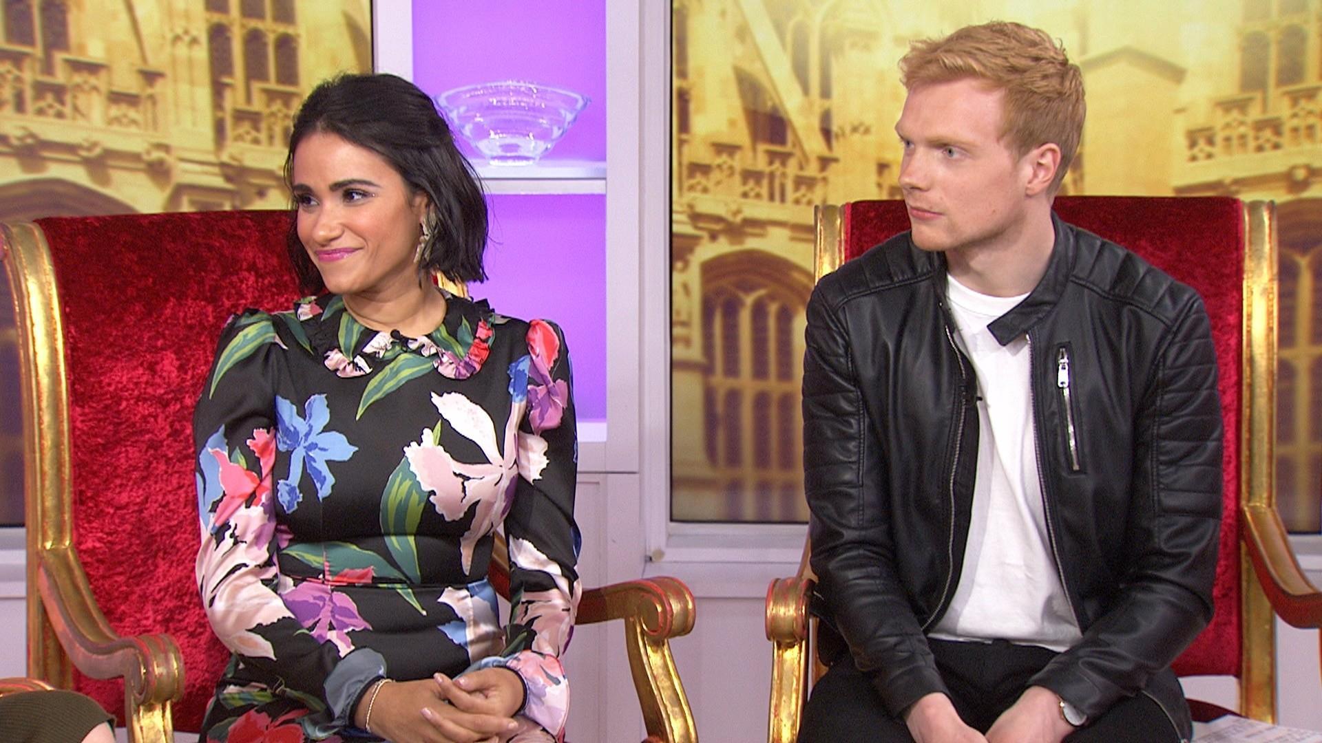 Lifetime's 'Becoming Royal' actors dish on playing Prince Harry and Meghan Markle
