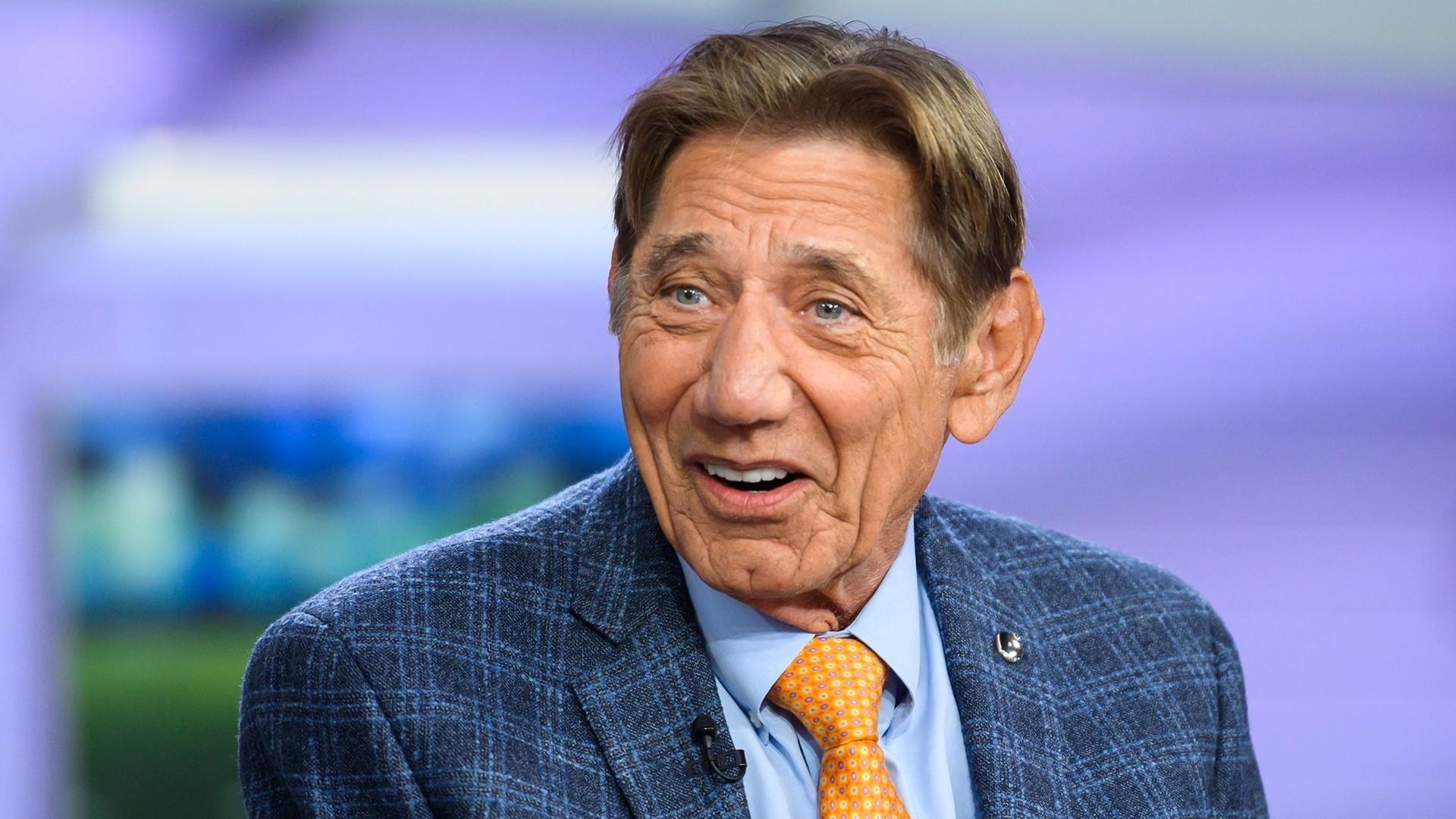 size 40 e3e5a 236bf Football legend Joe Namath talks about his new book, 'All the Way'