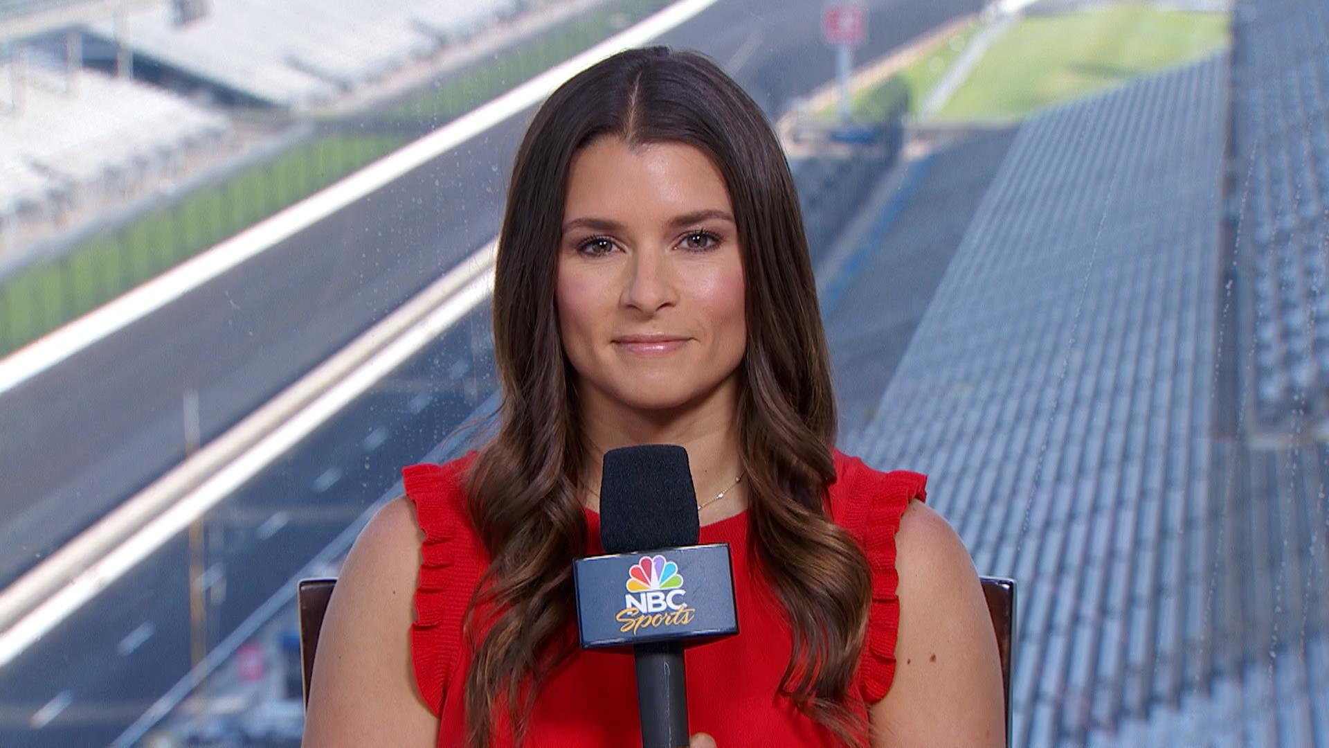Danica Patrick on what it's like to race in the Indy 500