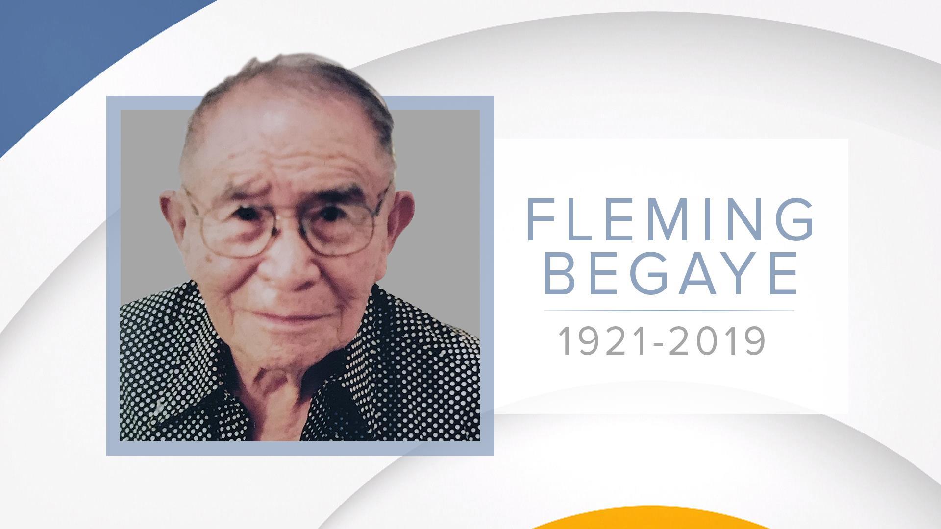 WWII hero and Navajo Code Talker Fleming Begaye Sr. dies at 97