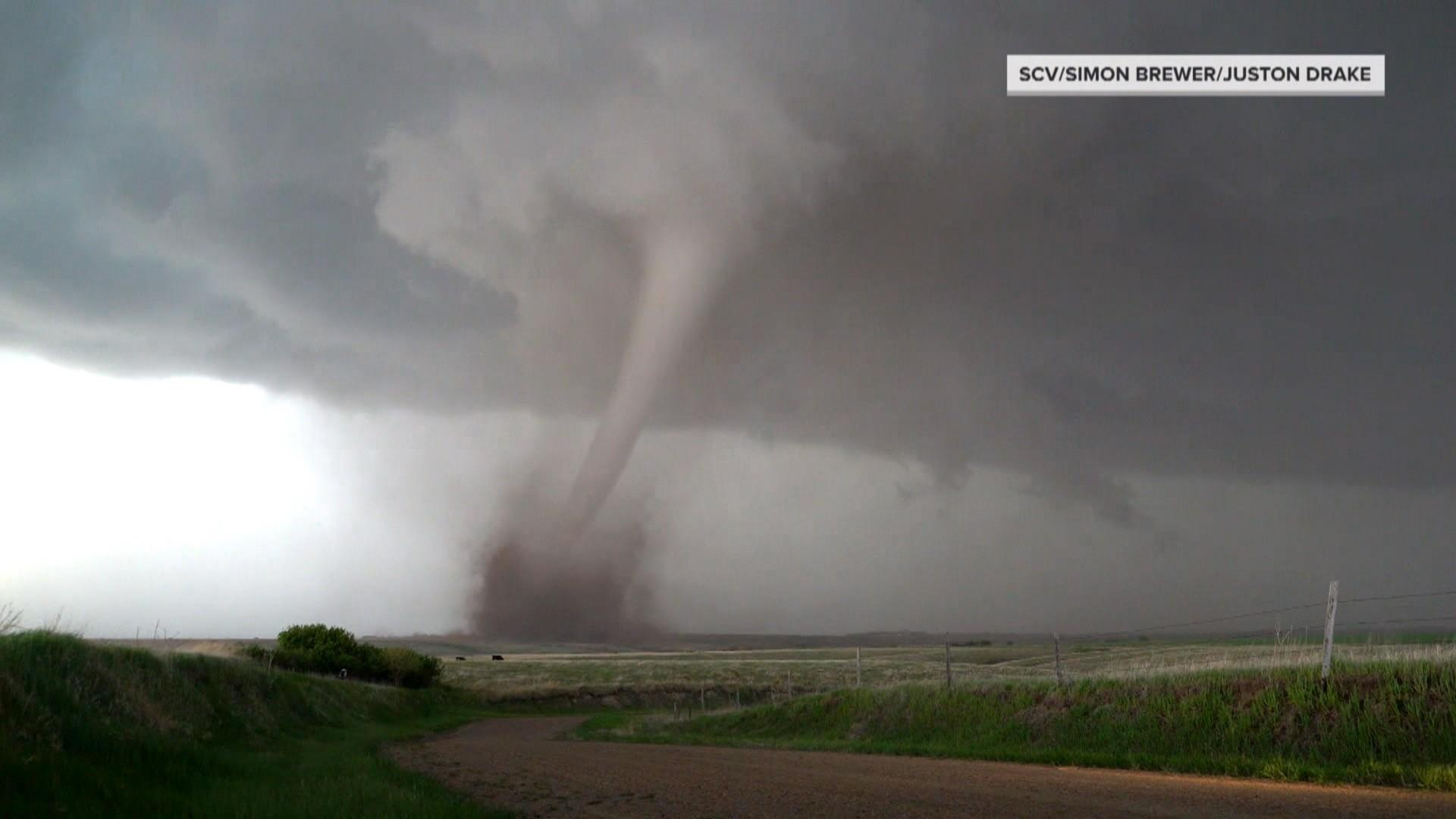 More than 50 tornadoes touch down amid severe weekend weather