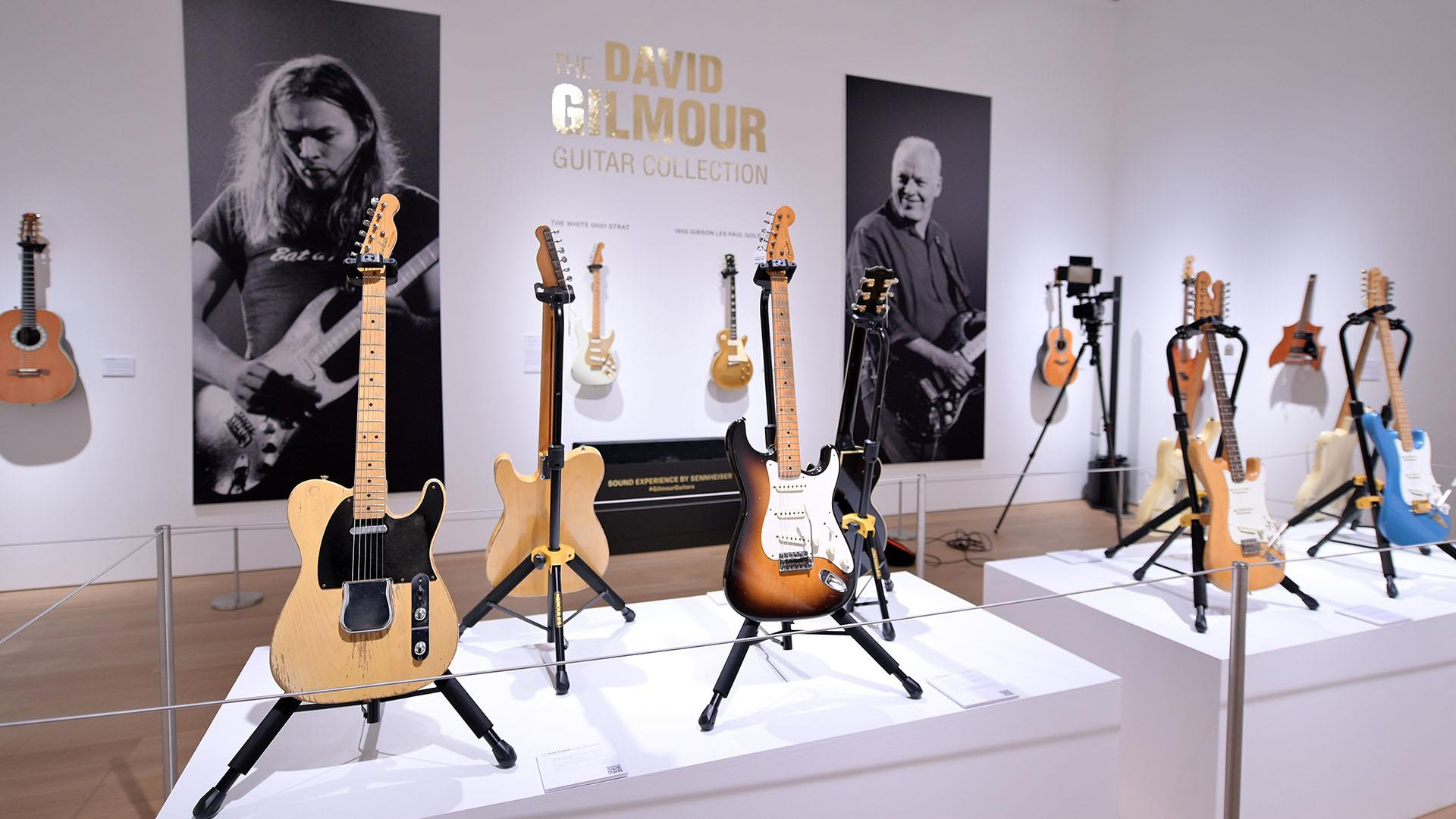 Pink Floyd guitarist David Gilmour sells guitar collection for climate change activists