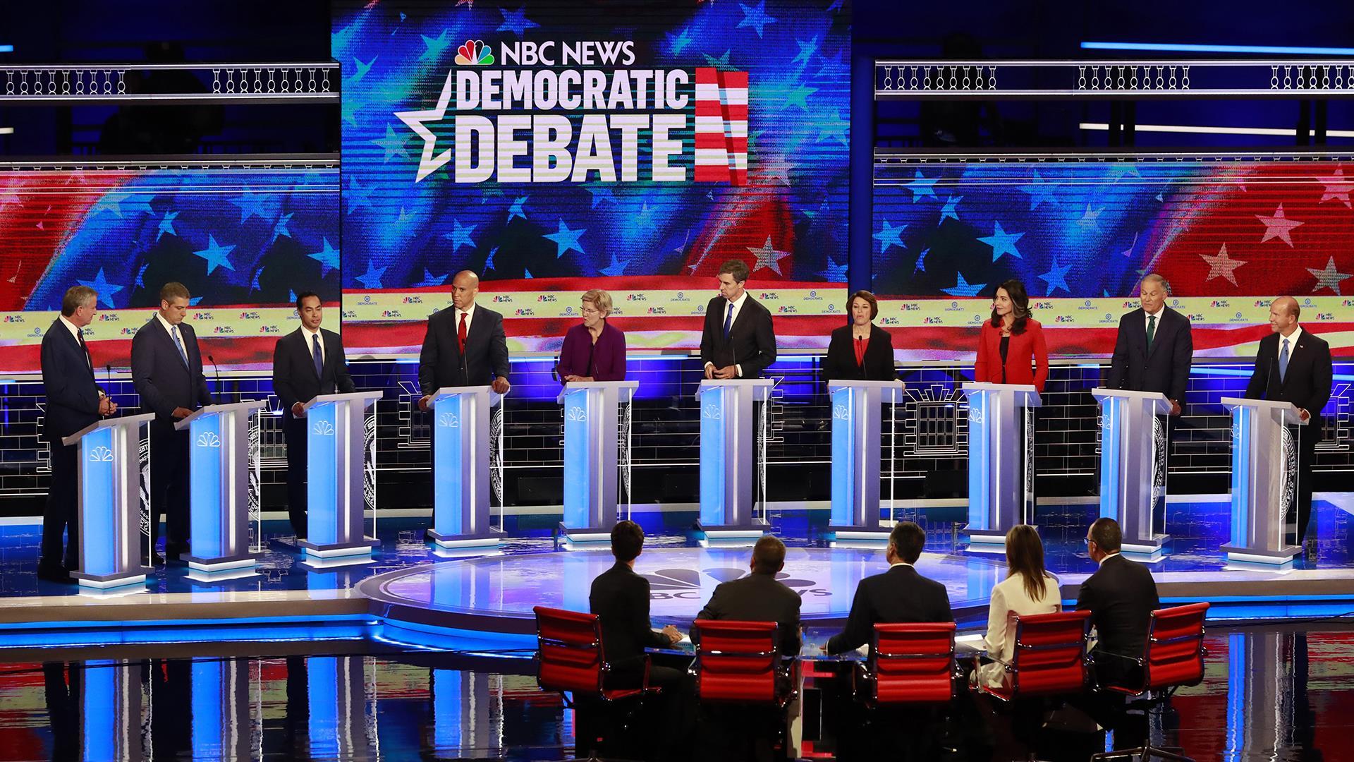 First Democratic debate highlights in under five minutes: Round 1