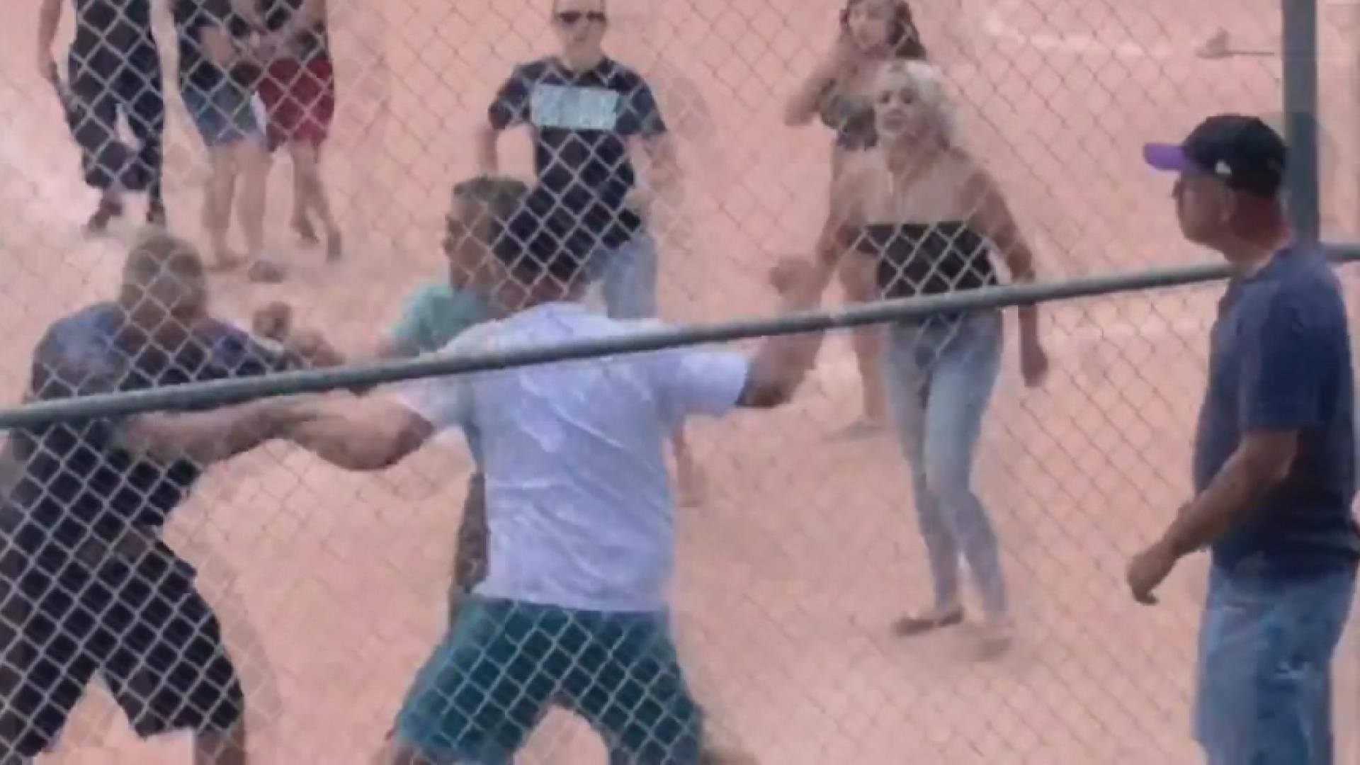 Parents throw punches — not baseballs — in brawl at children's baseball game in Colorado