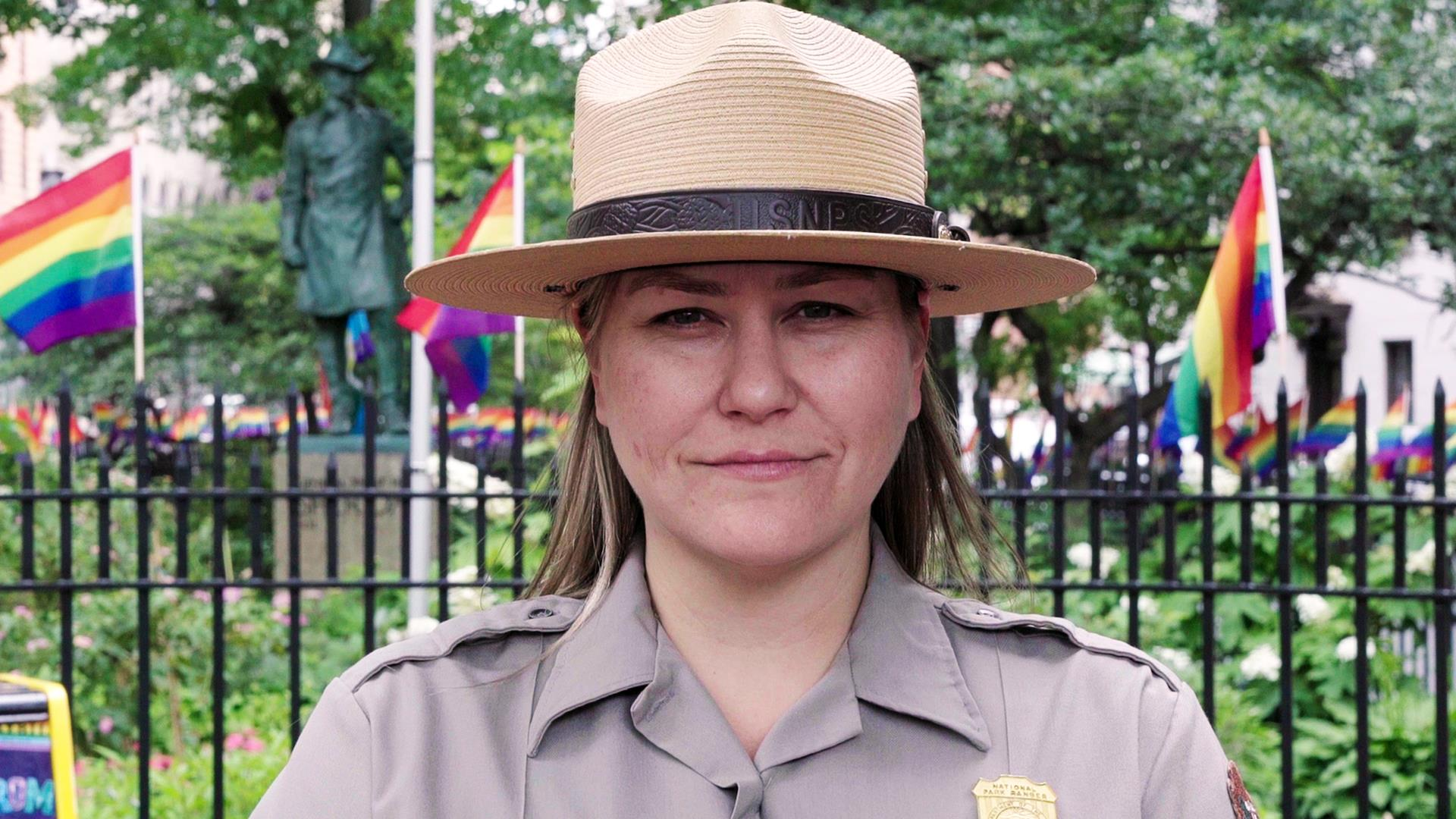 """Don't ask, don't tell"" veteran becomes first Stonewall park ranger"
