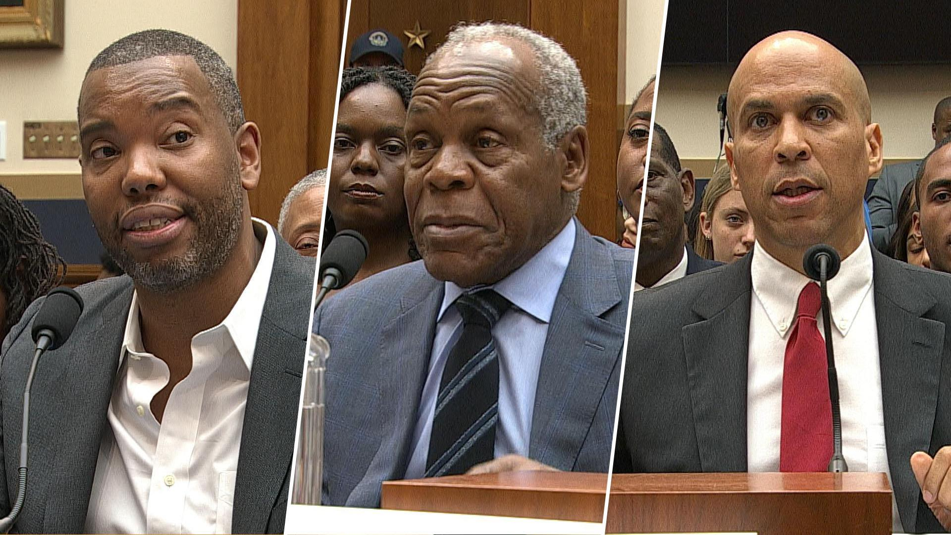 Ta-Nehisi Coates, Danny Glover and Sen. Booker speak at House hearing on reparations