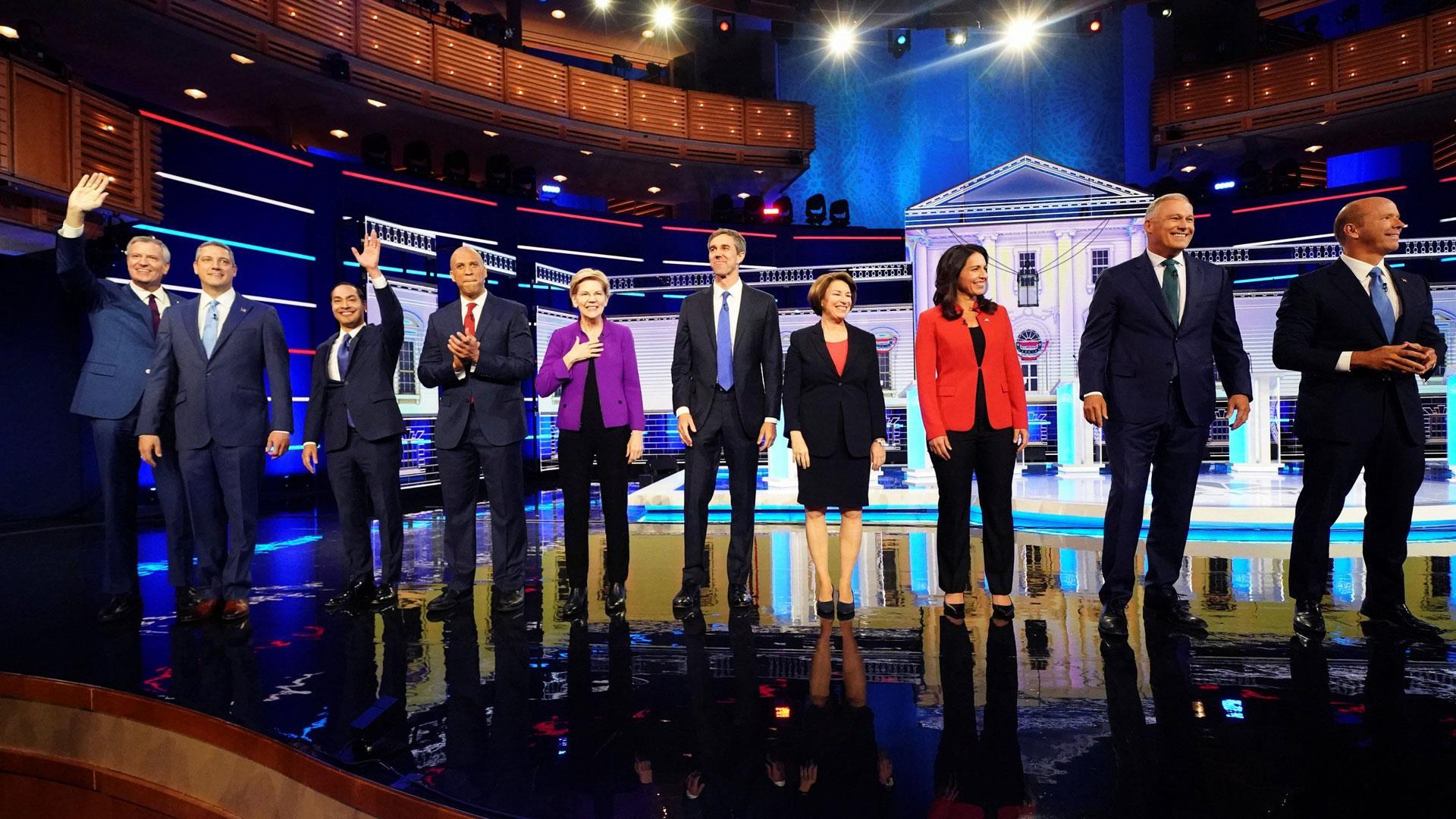 Full video: Democratic presidential debate, night 1