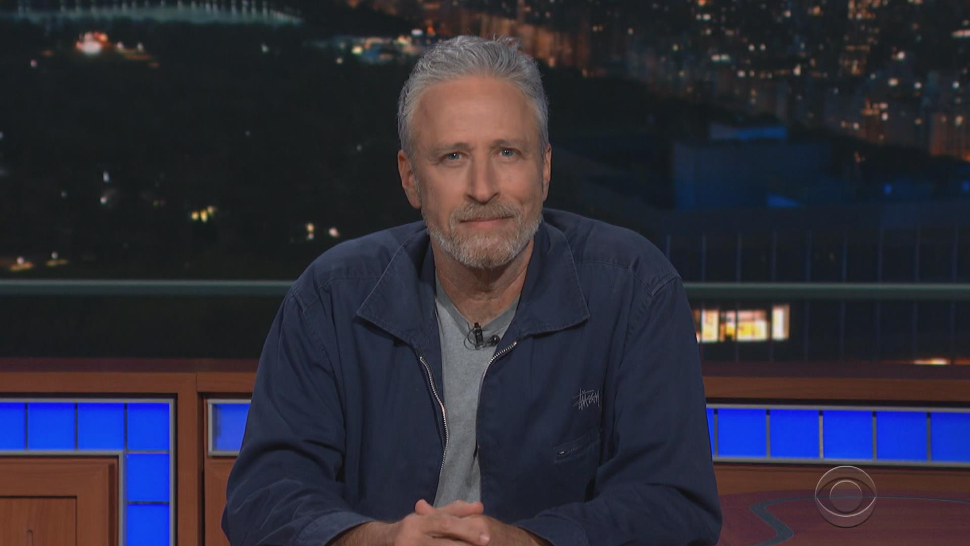 Jon Stewart fires back at McConnell on Late Show