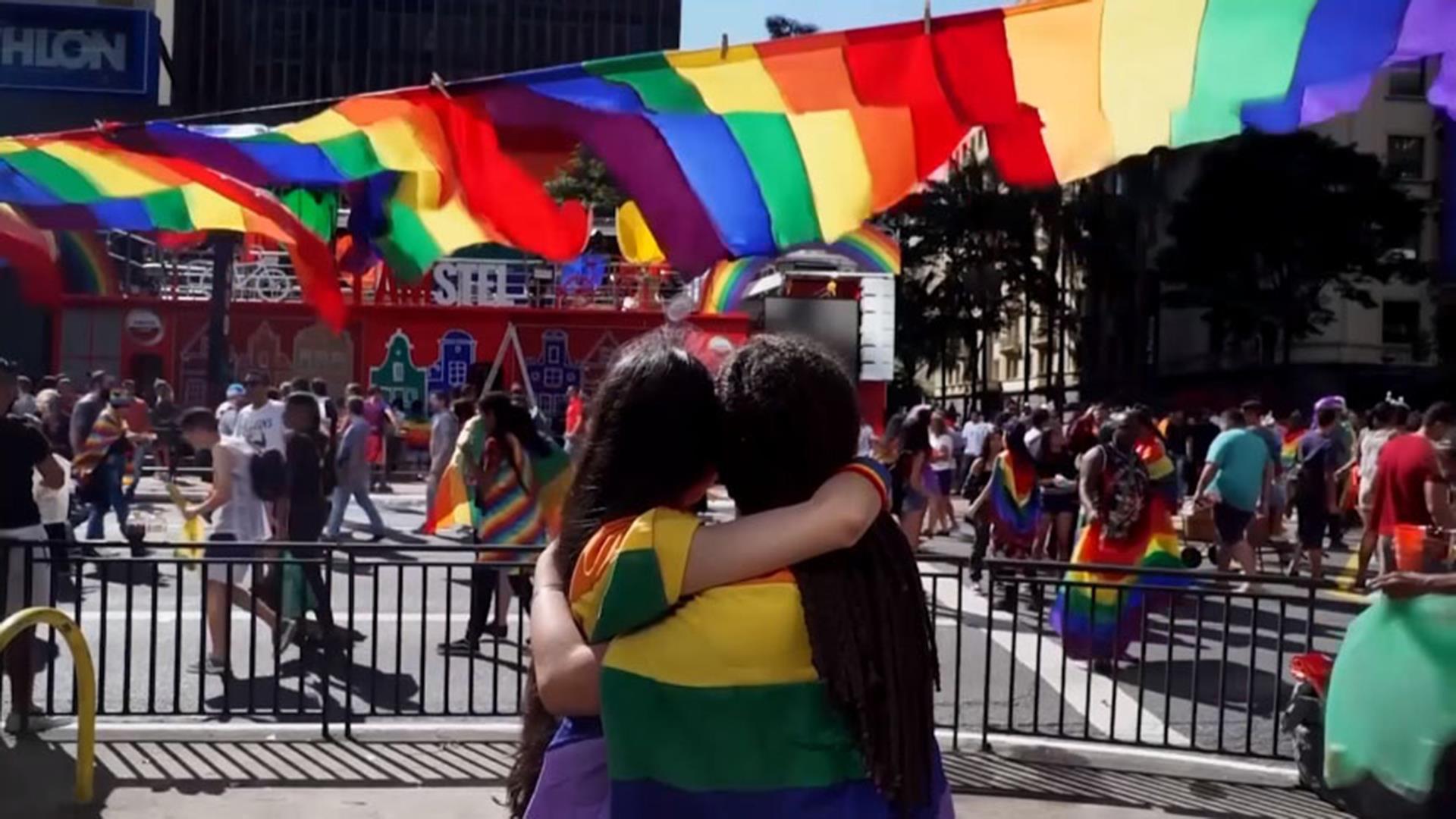 Massive crowds attend São Paulo Pride Parade in Brazil