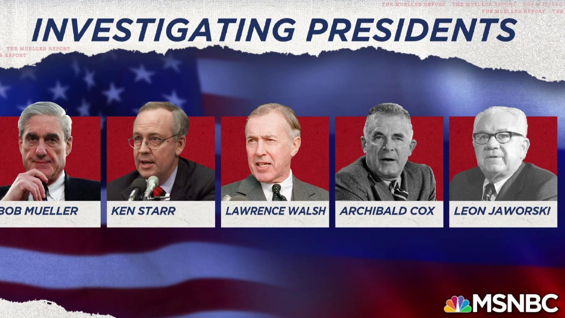 Watch: how Mueller's predecessors confronted presidents