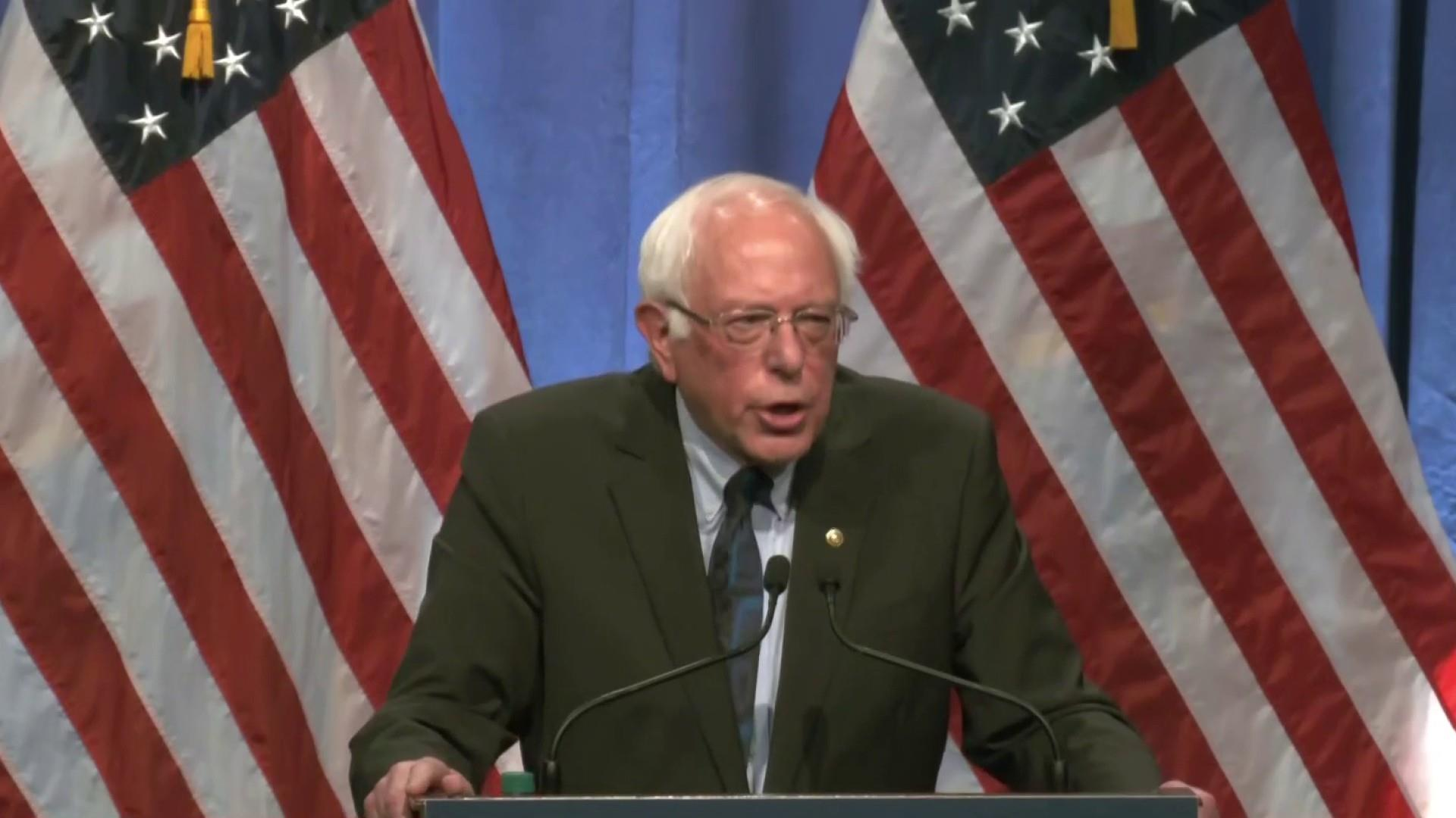 Sanders goes 'full FDR' touting 'hatred' from bankers