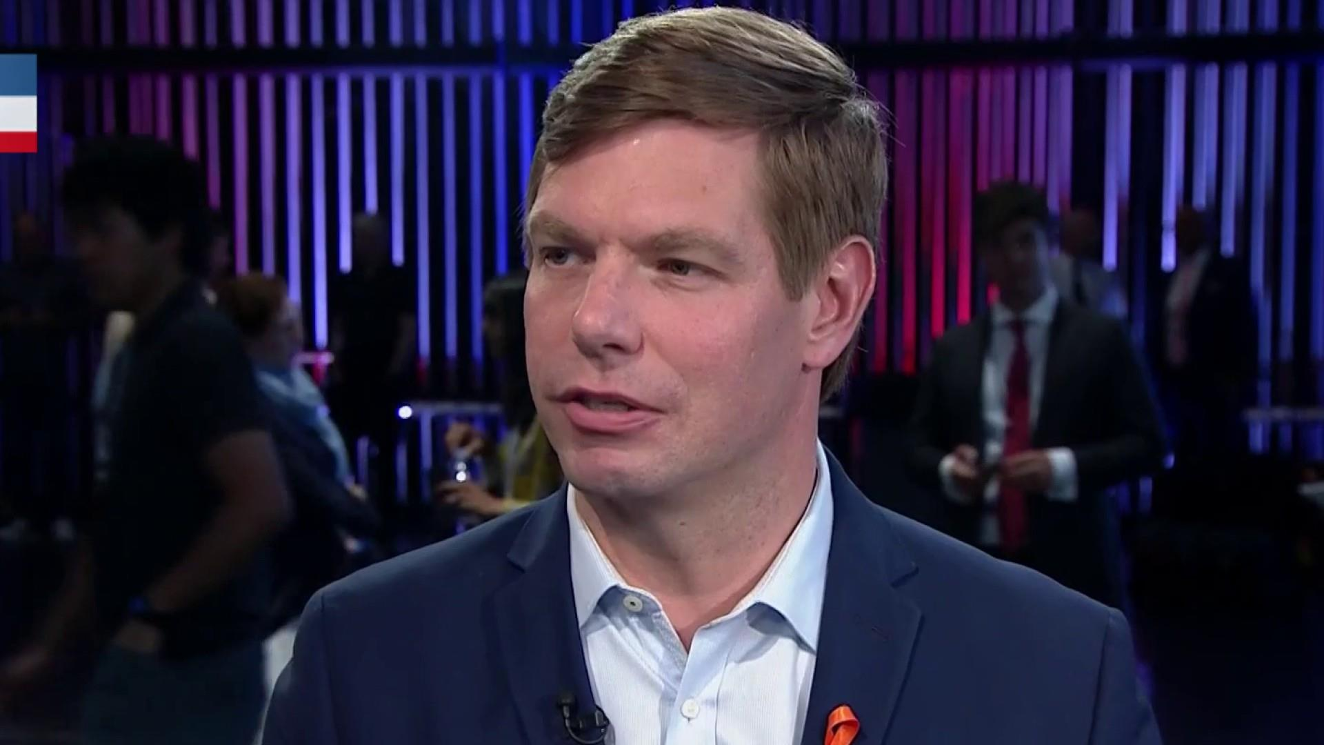 'Mind boggling': Swalwell hits rivals for ducking Trump in debate