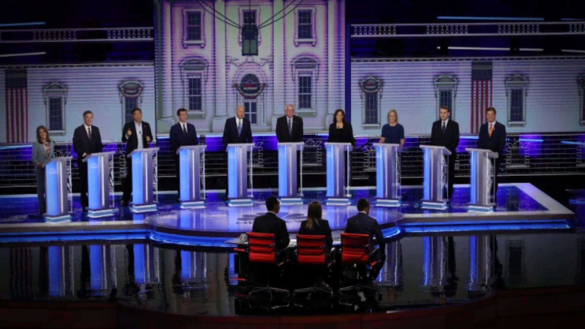 Debate night two: Dems blast Trump as 'worst president ever' and more