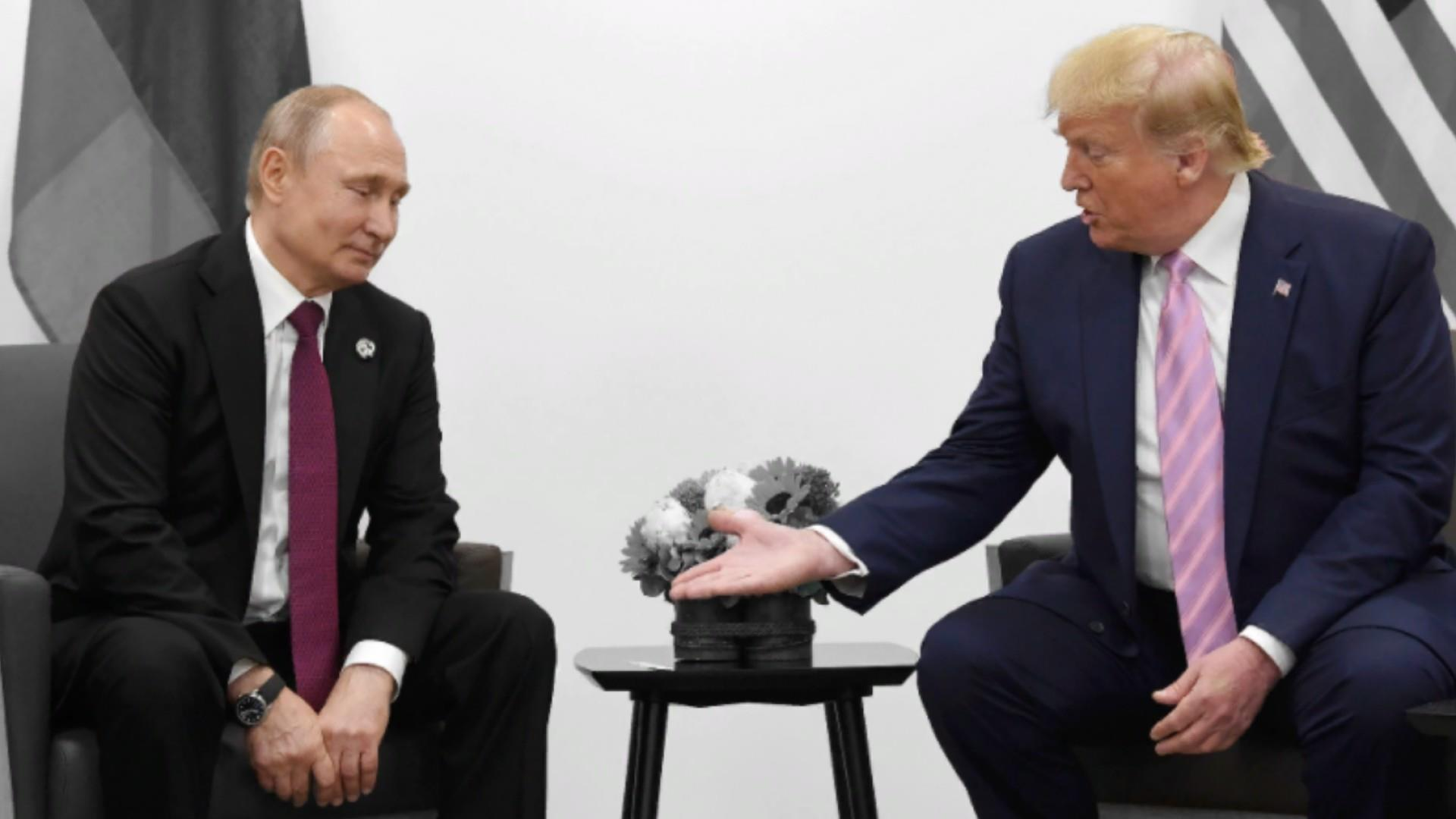 Trump jokes about 'fake news' with Putin who's had journalists killed