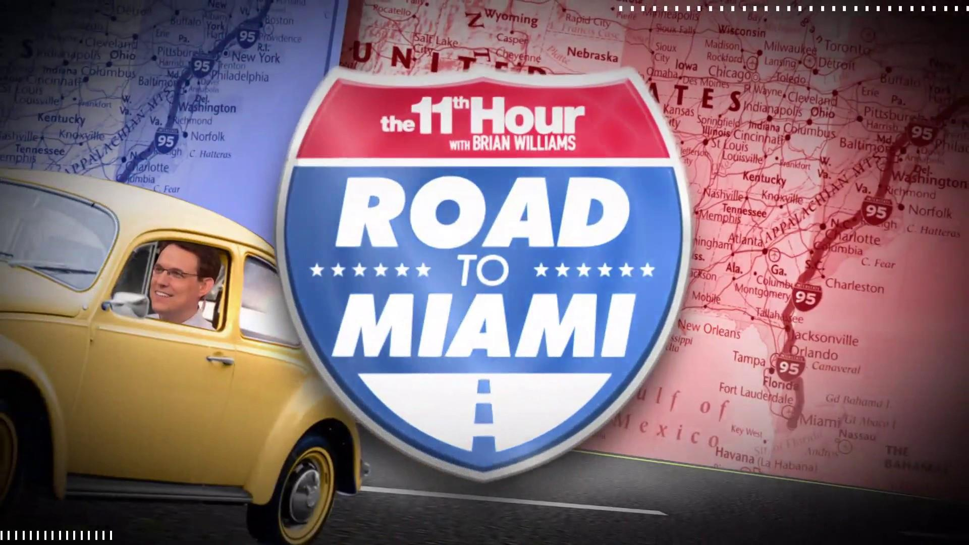 Road to Miami: Steve Kornacki on what you need to know about Maryland before 2020