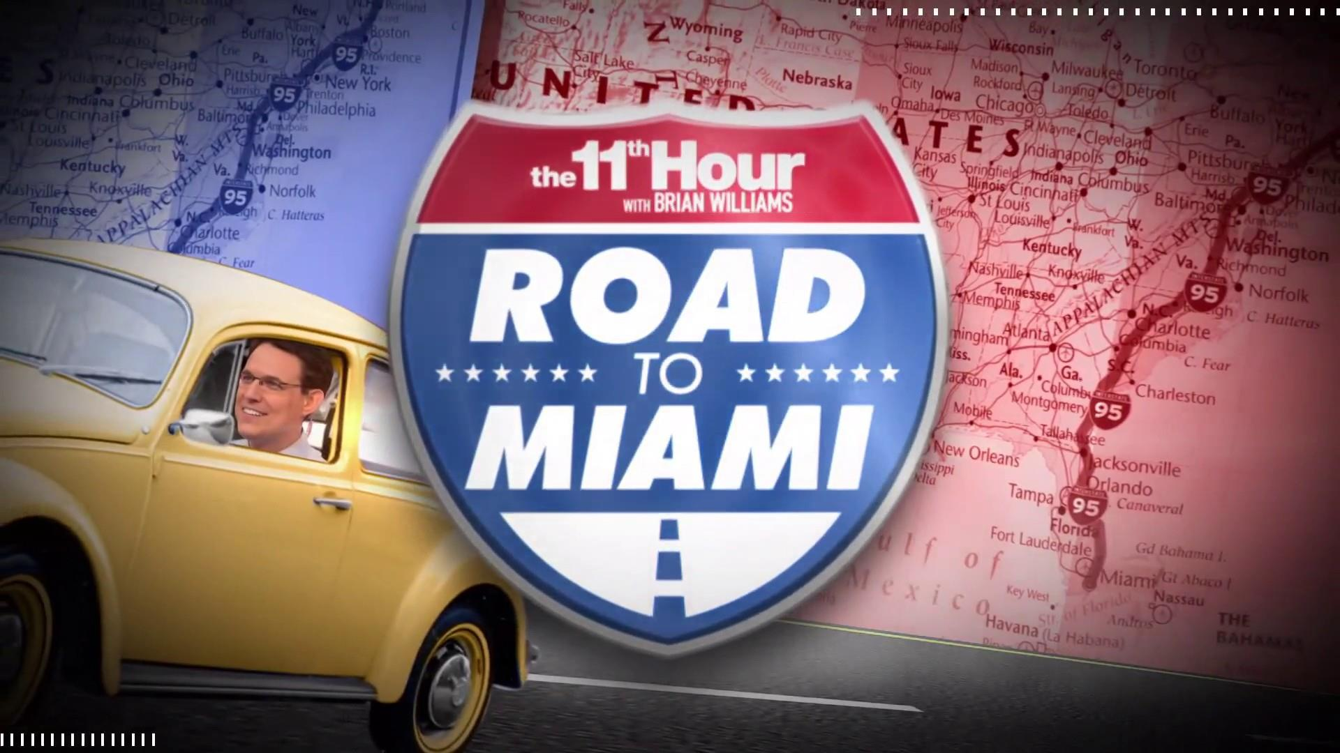 Road to Miami: Steve Kornacki on what you need to know about North Carolina before 2020