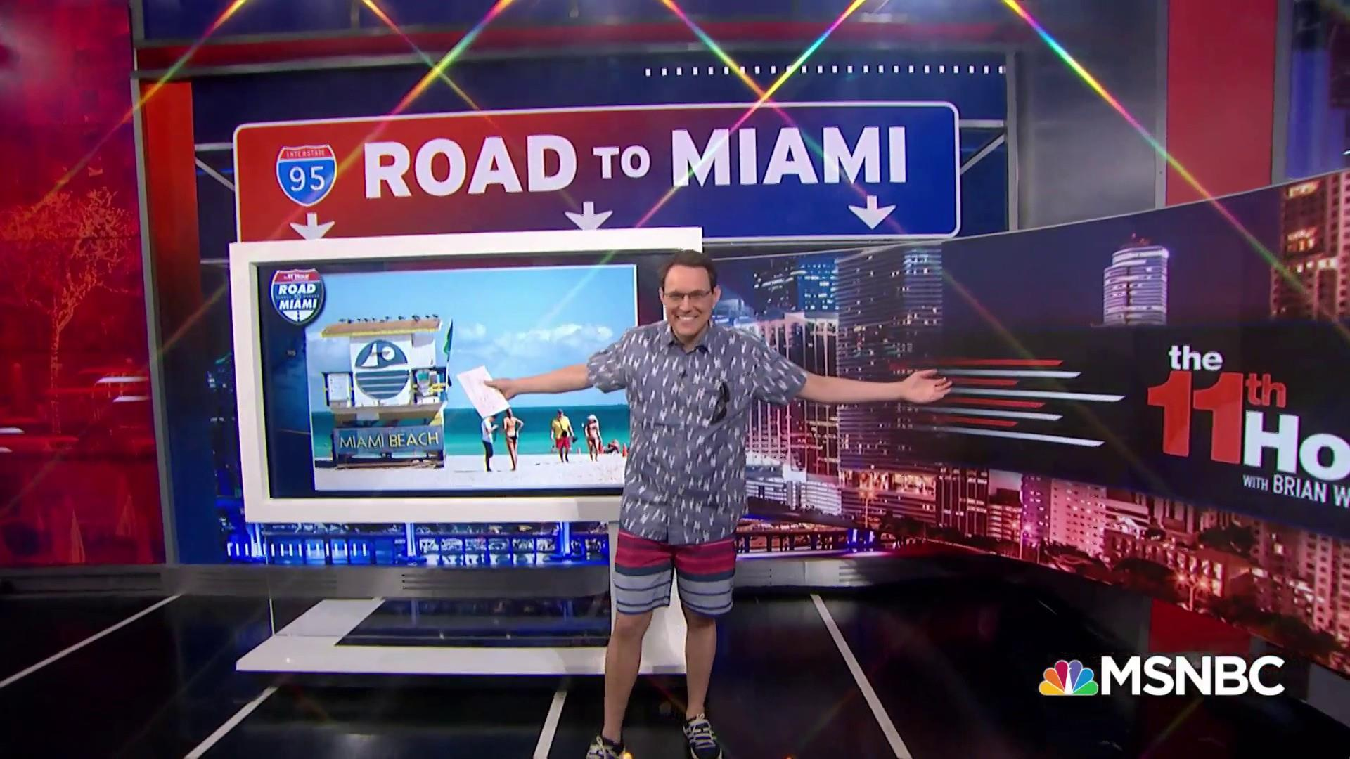 Road to Miami: Steve Kornacki on what you need to know about Florida before 2020