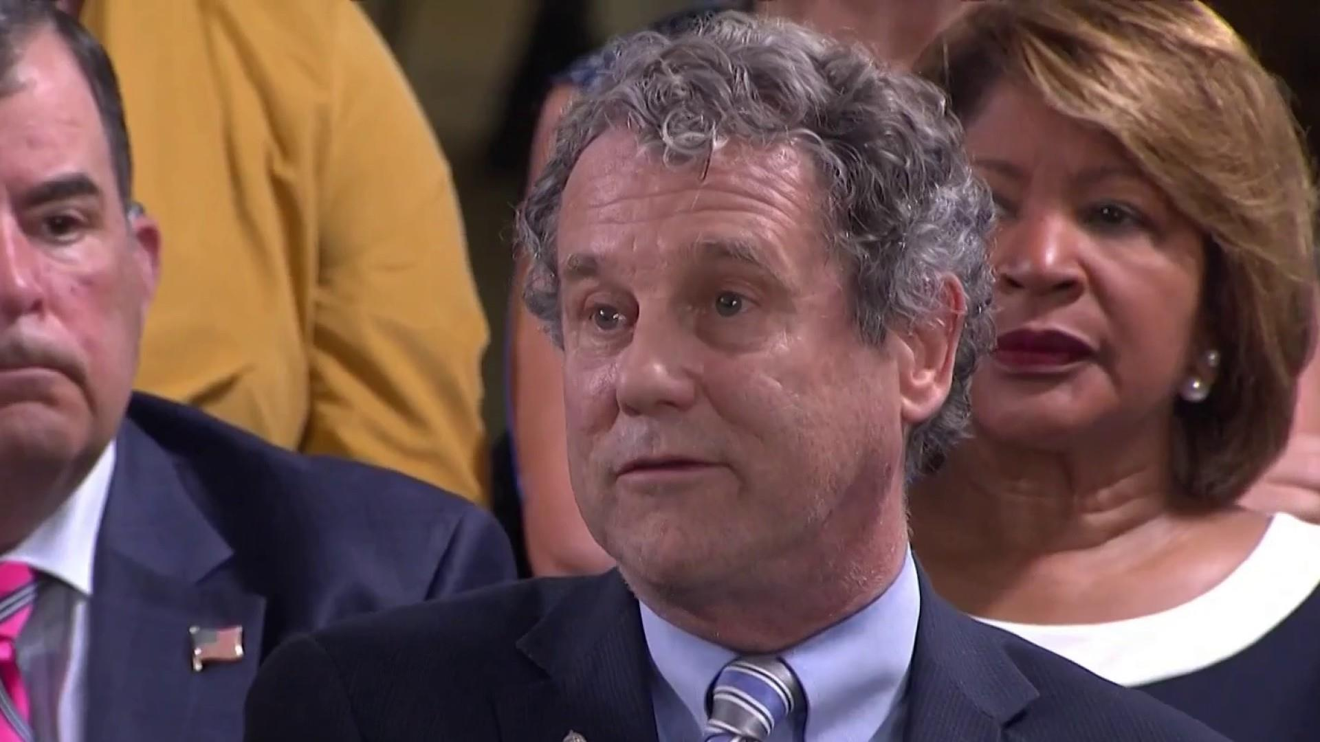 Sherrod Brown: Trump is a terrible President who has betrayed workers