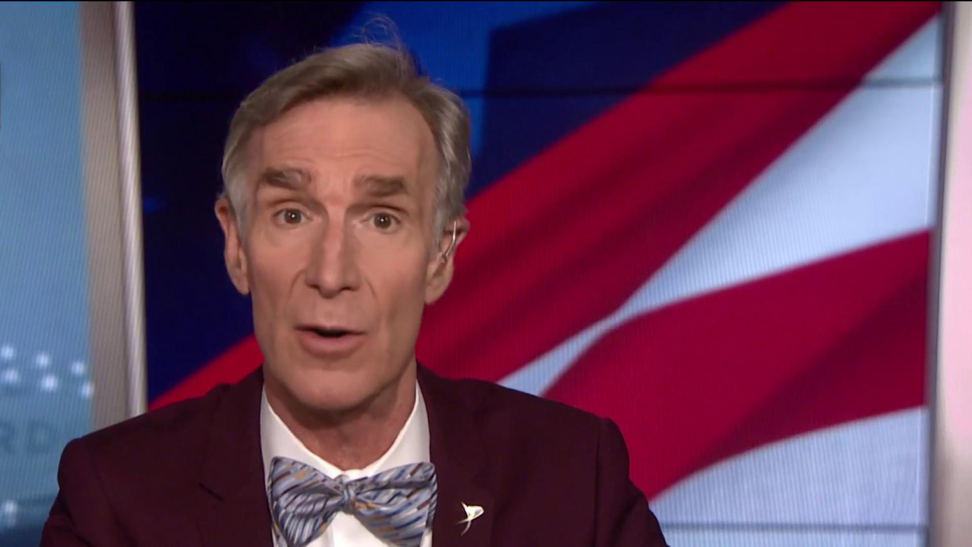 Bill Nye: 'The world is getting warmer faster than it's ever gotten in history'