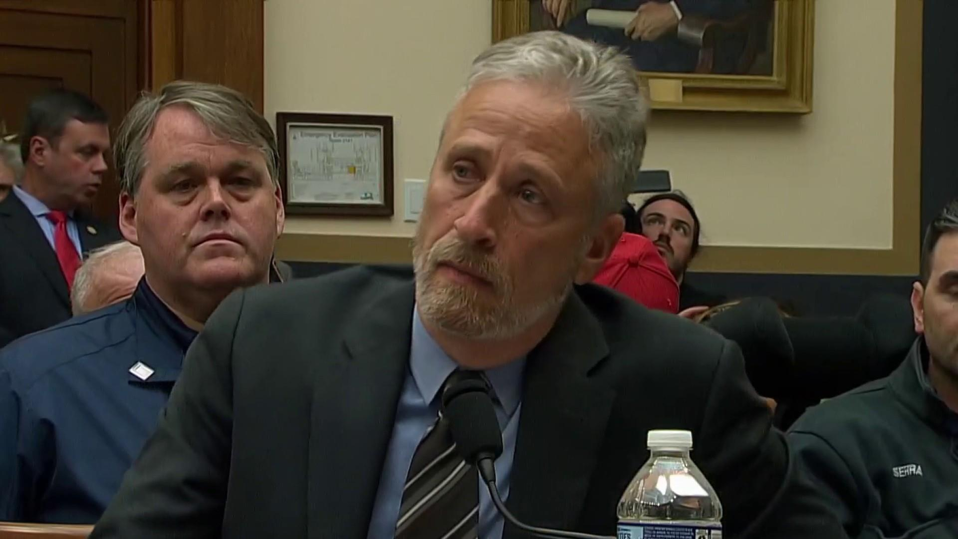 "Jon Stewart to Congress: ""After 18 years, do your job"""