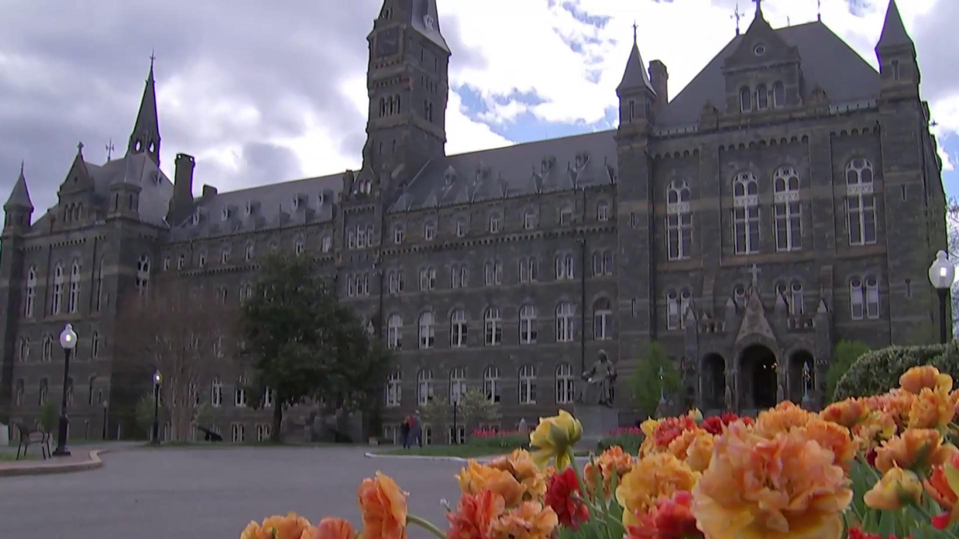 Georgetown students push for reparations to address university's dark past