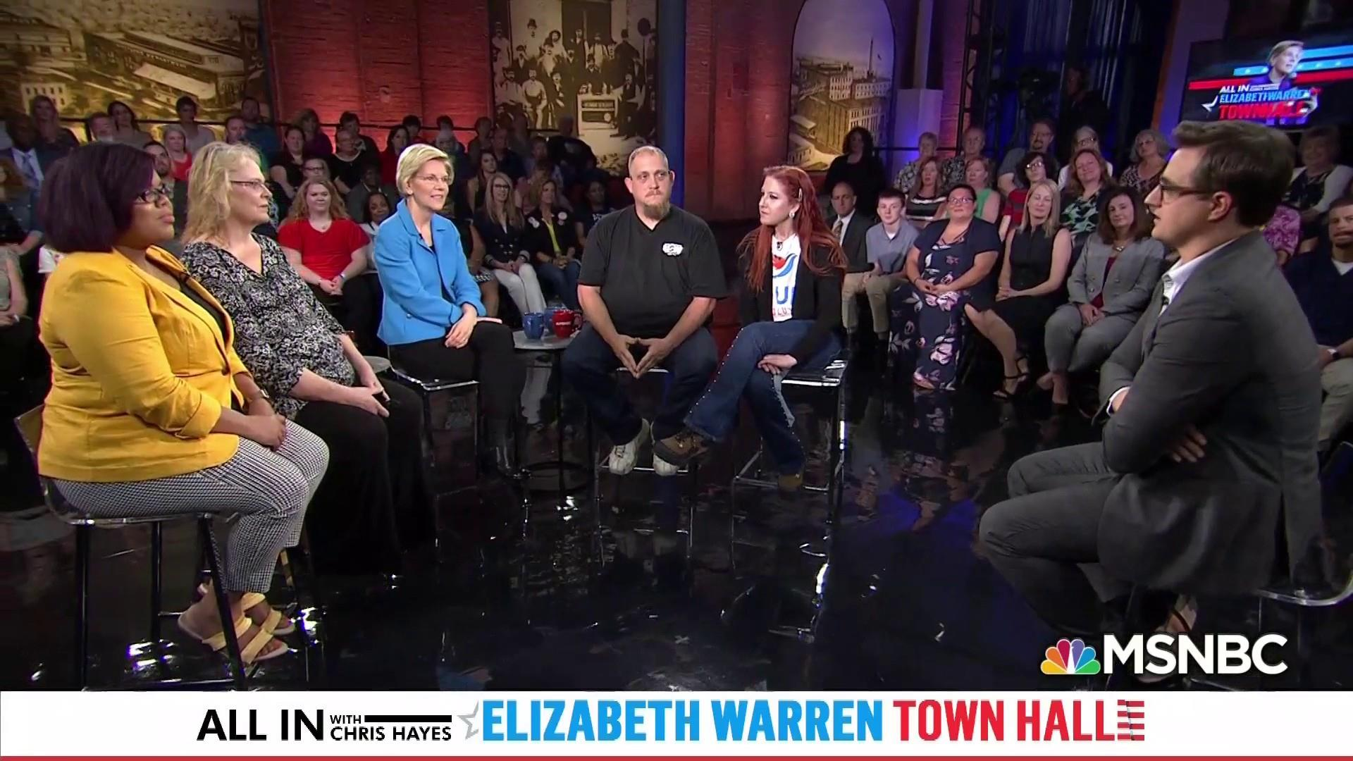 FLASHBACK: Prof. Elizabeth Warren faces off against Sen. Joe Biden