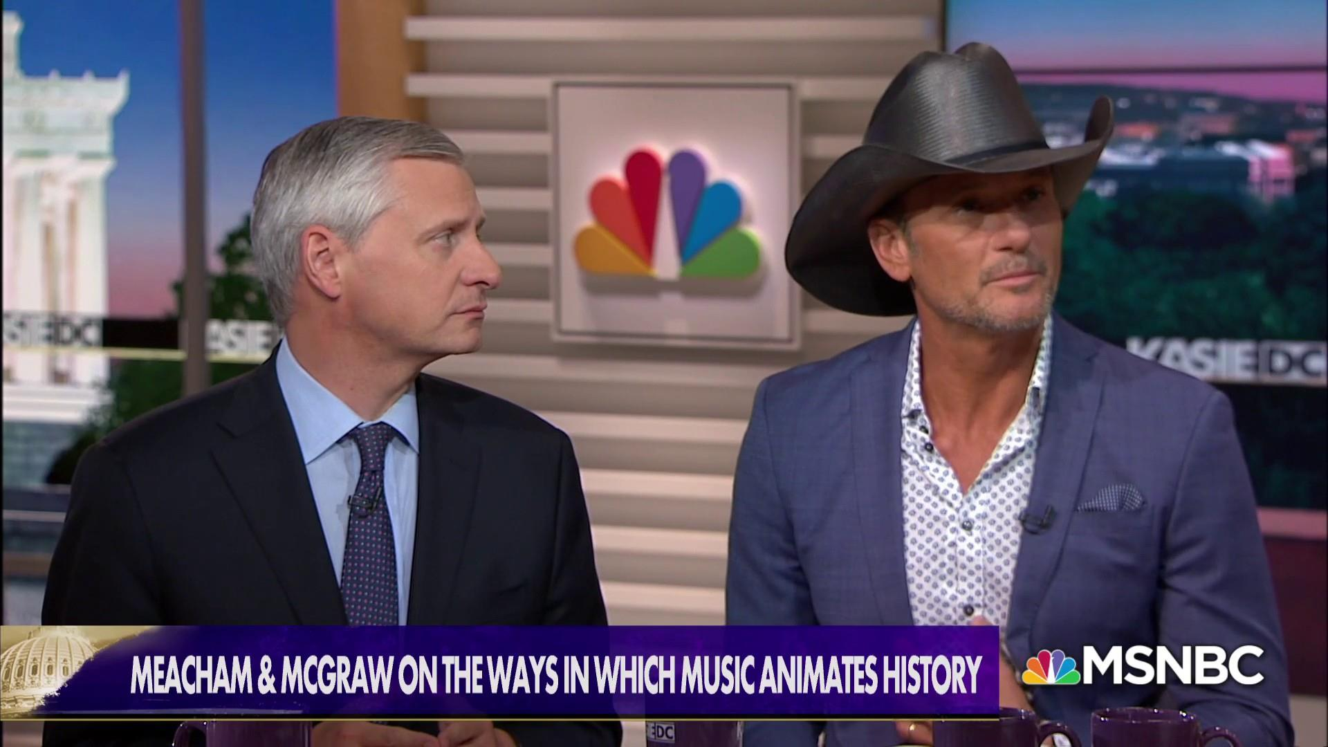 'Songs of America': Tim McGraw & Jon Meacham trace history through music