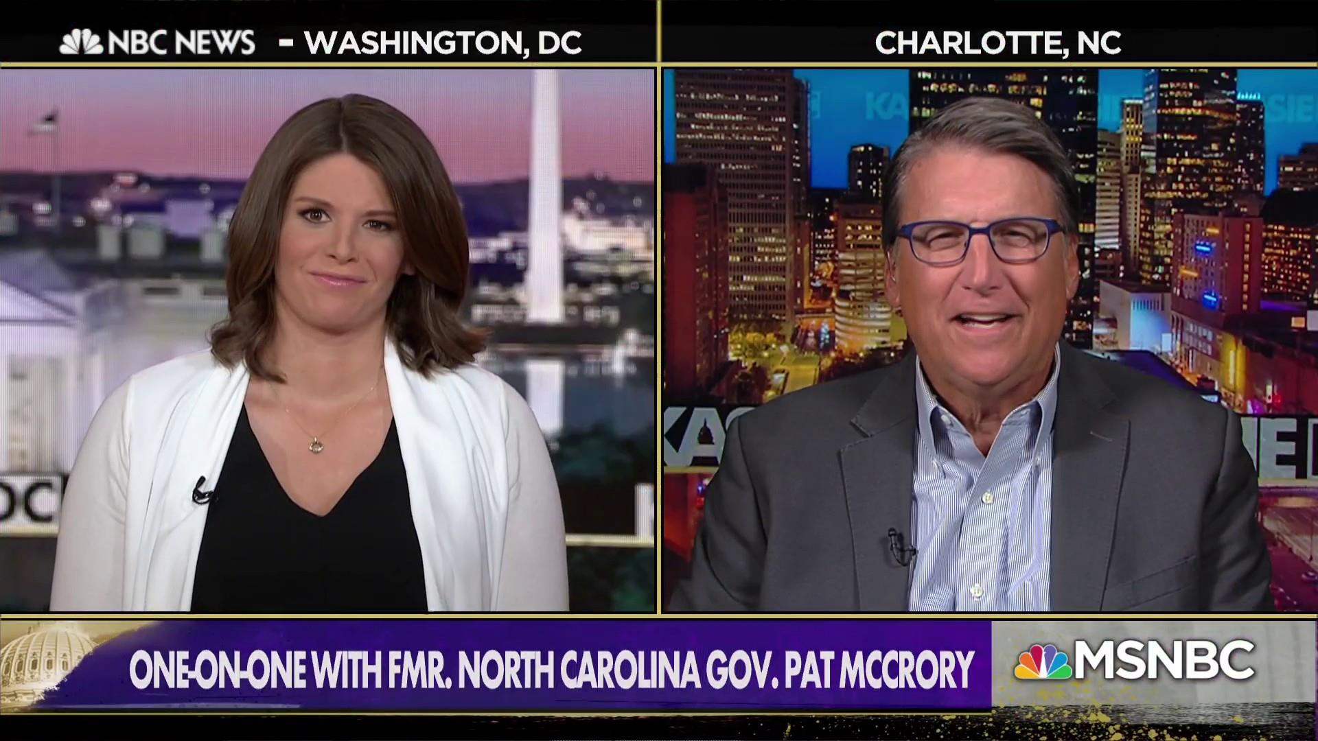 Fmr. NC Governor: 'Absolutely' confident Trump will get behind Tillis in 2020