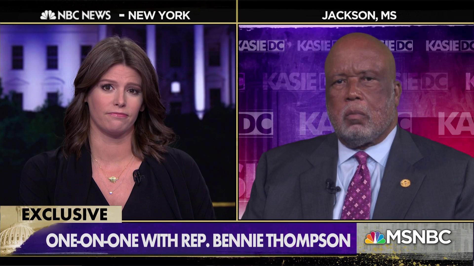 Rep. Bennie Thompson: Impeachment 'absolutely' inevitable
