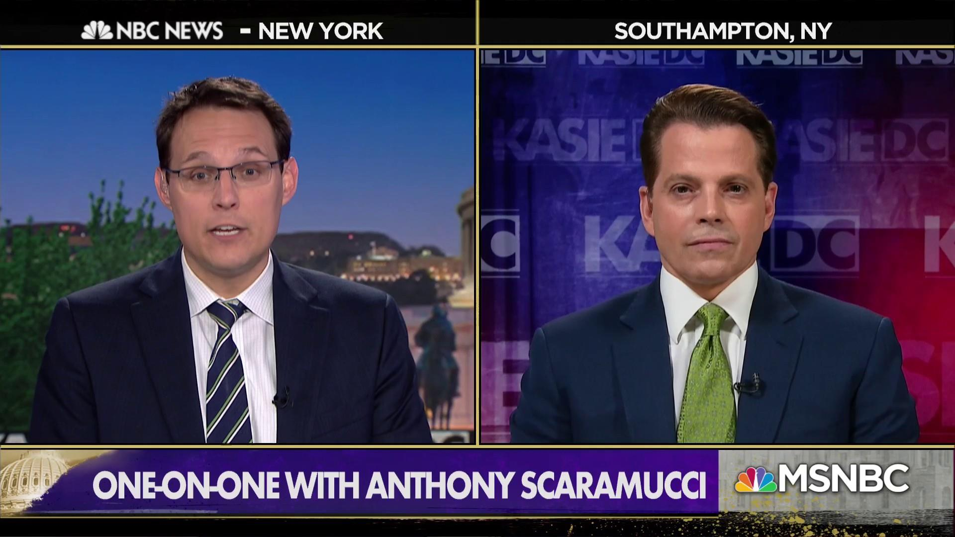 Scaramucci: Trump would have an easier time with Sanders than Biden