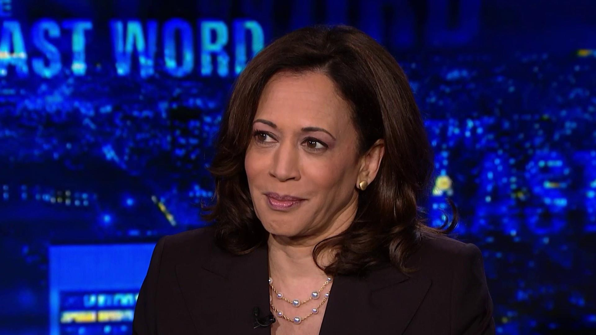 Kamala Harris: Trump's new deportation plan is 'outrageous'
