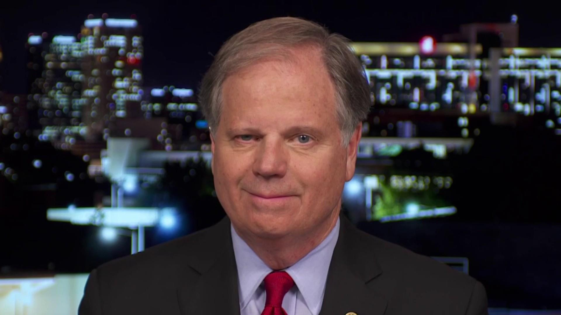 Sen. Doug Jones (D-AL): Trump tariffs are hurting Alabama