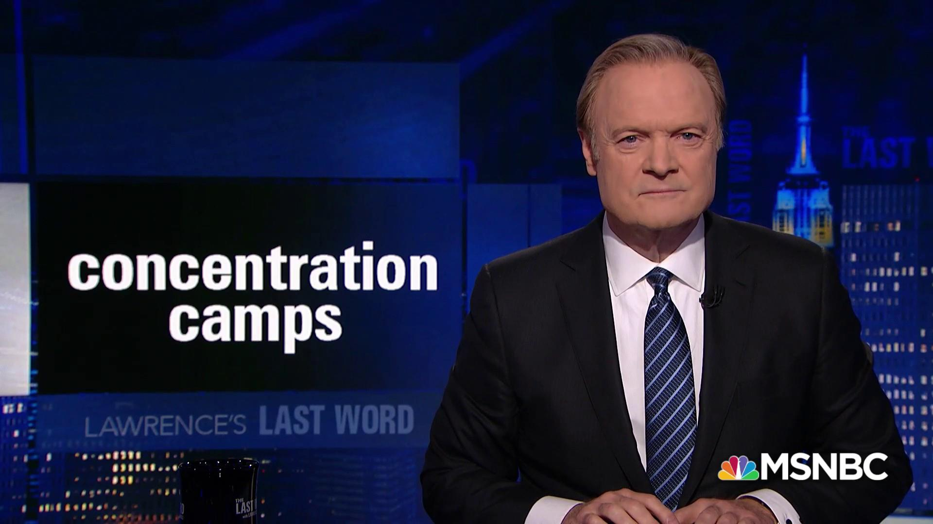 Lawrence's Last Word: America's history of concentration camps