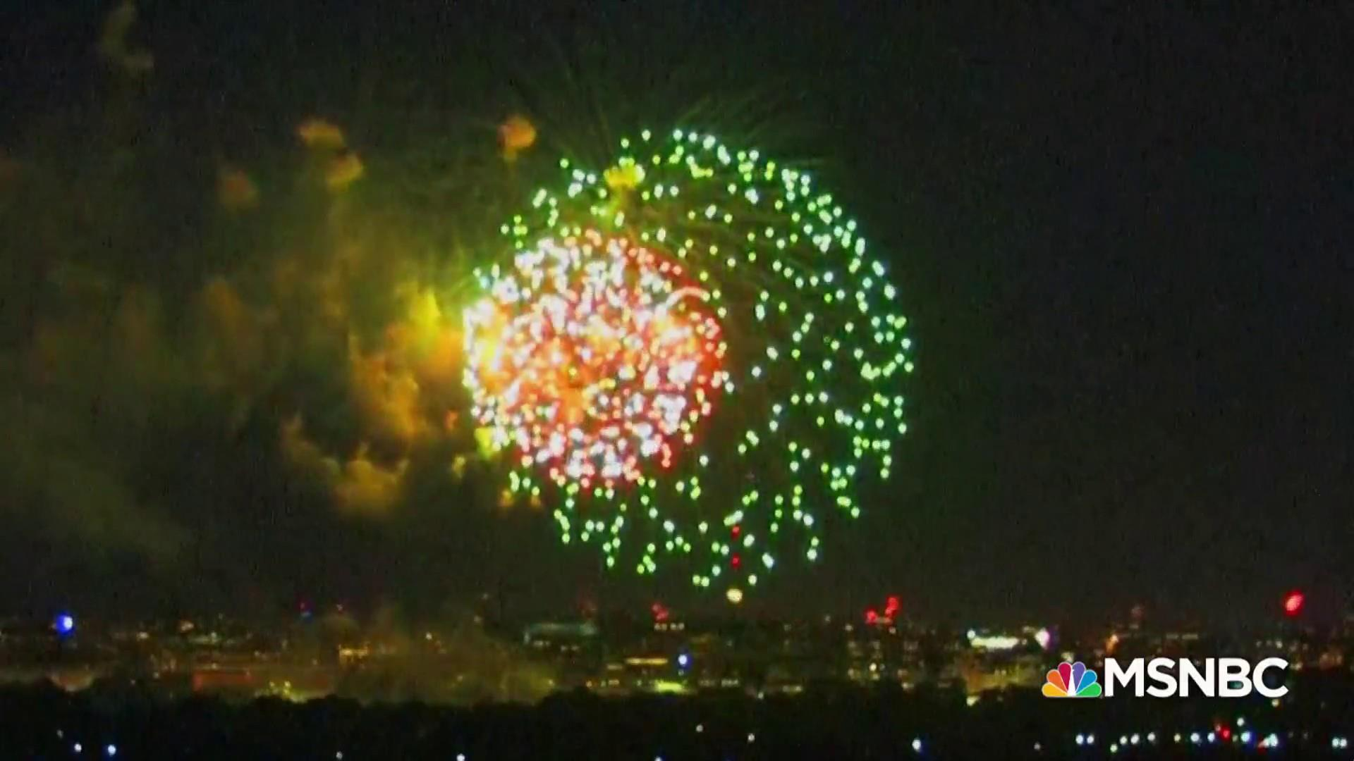Trump plan to hijack 4th of July event not encouraged by history
