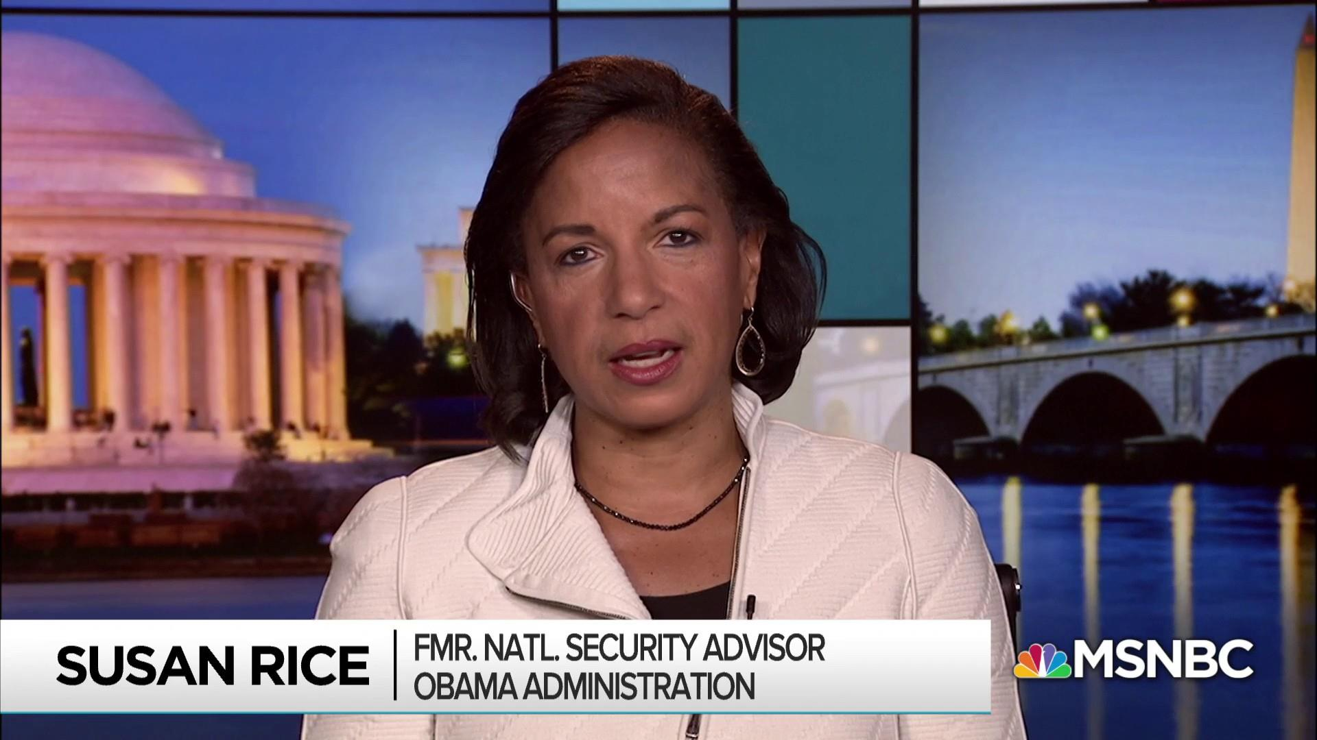 Rice: Trump shows 'extraordinary disregard for our democracy'