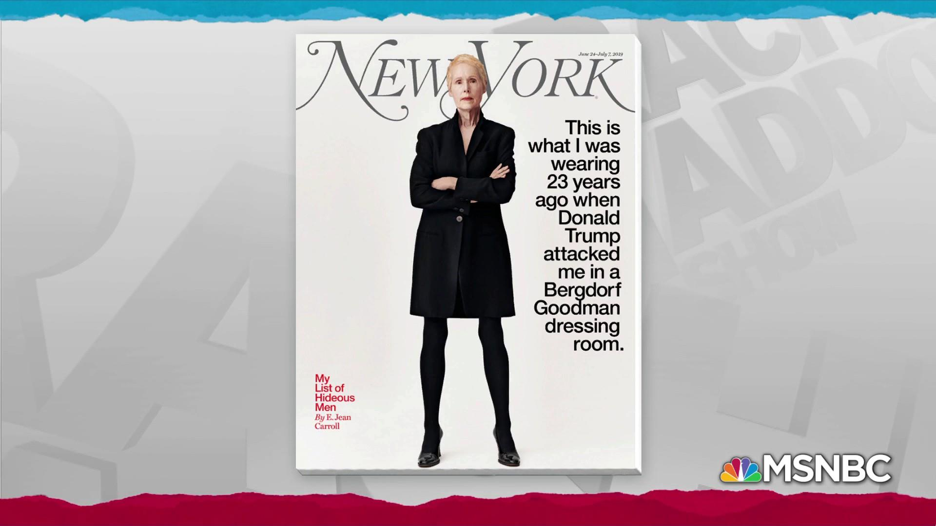 E. Jean Carroll alleges past sexual assault by Donald Trump