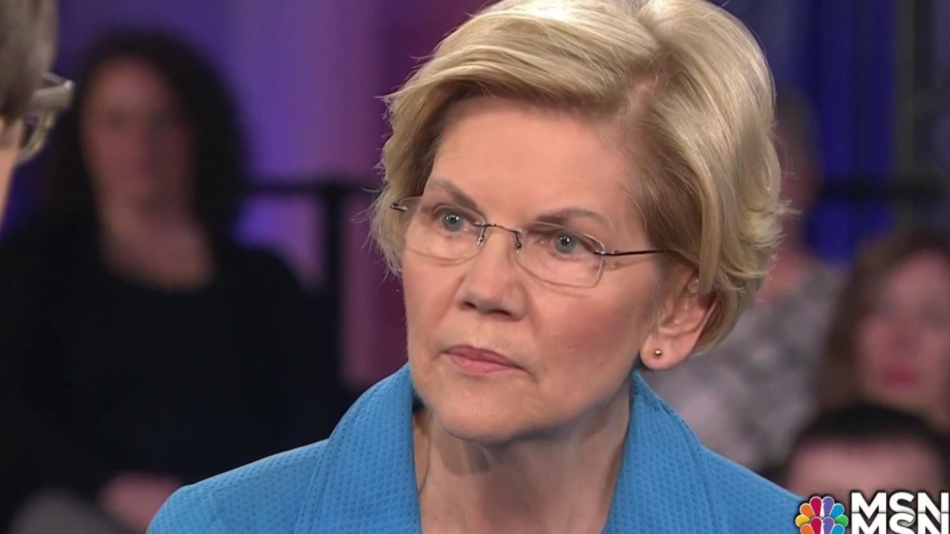 Elizabeth Warren brings personal intensity to town hall issues