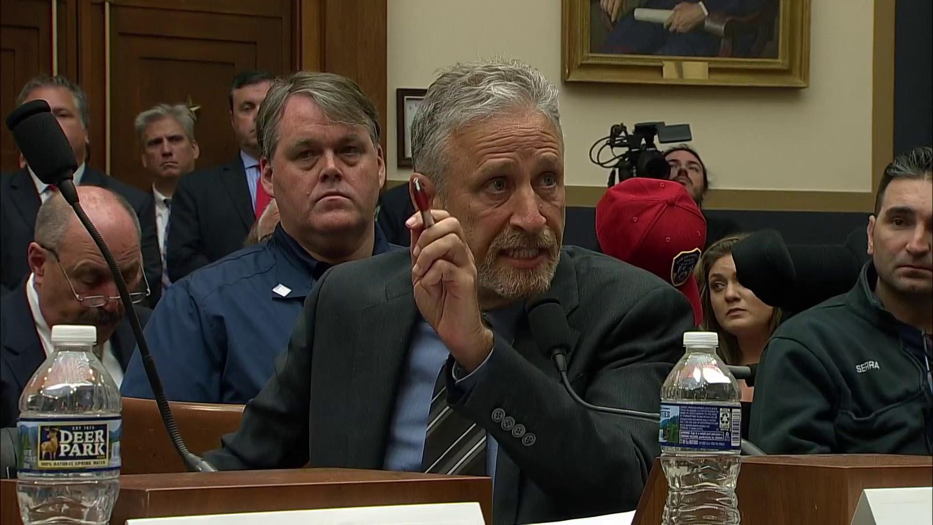 Jon Stewart excoriates Congress over inattention to 9/11 victims