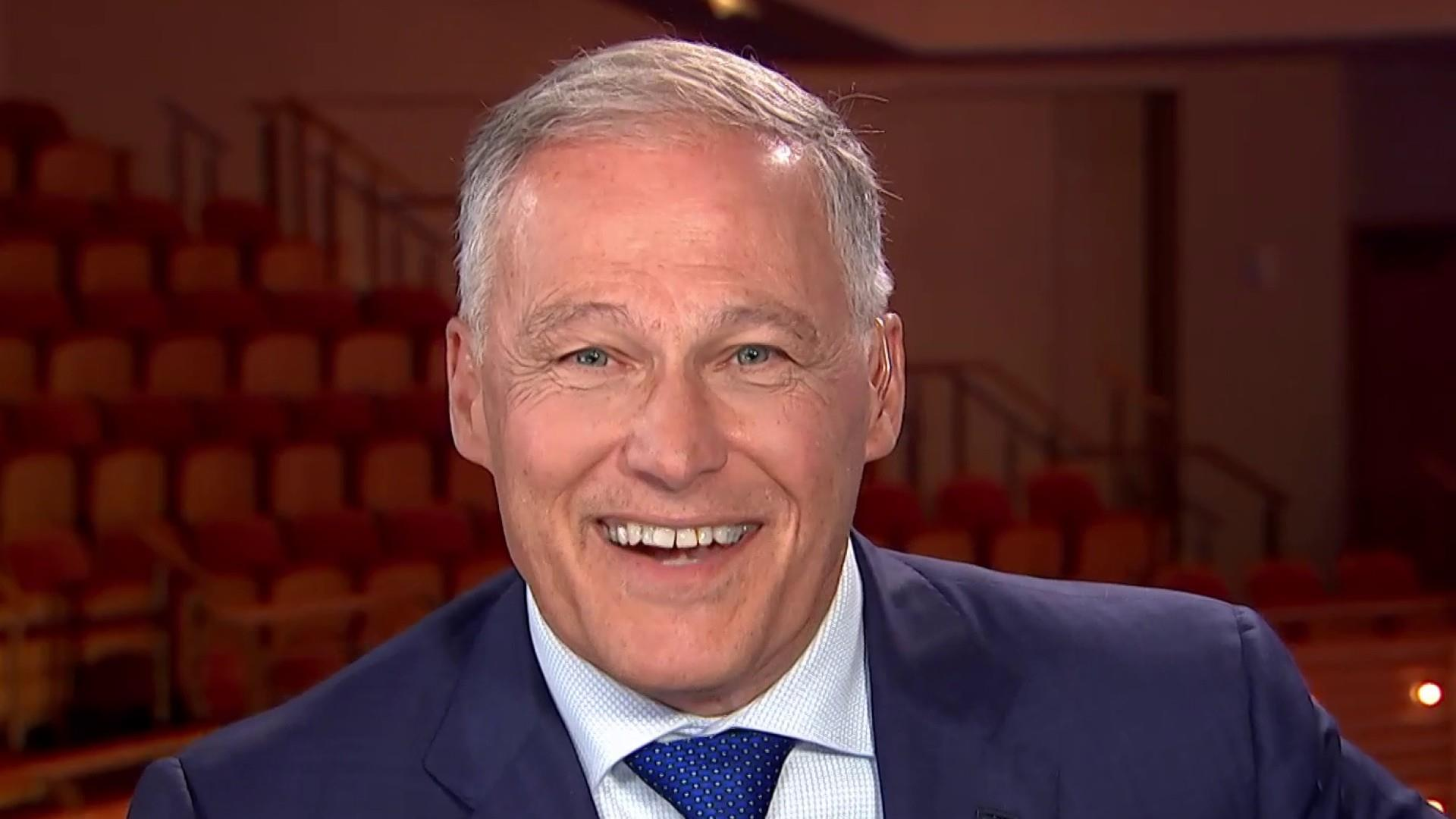 Gov. Inslee speaks on his debate performance