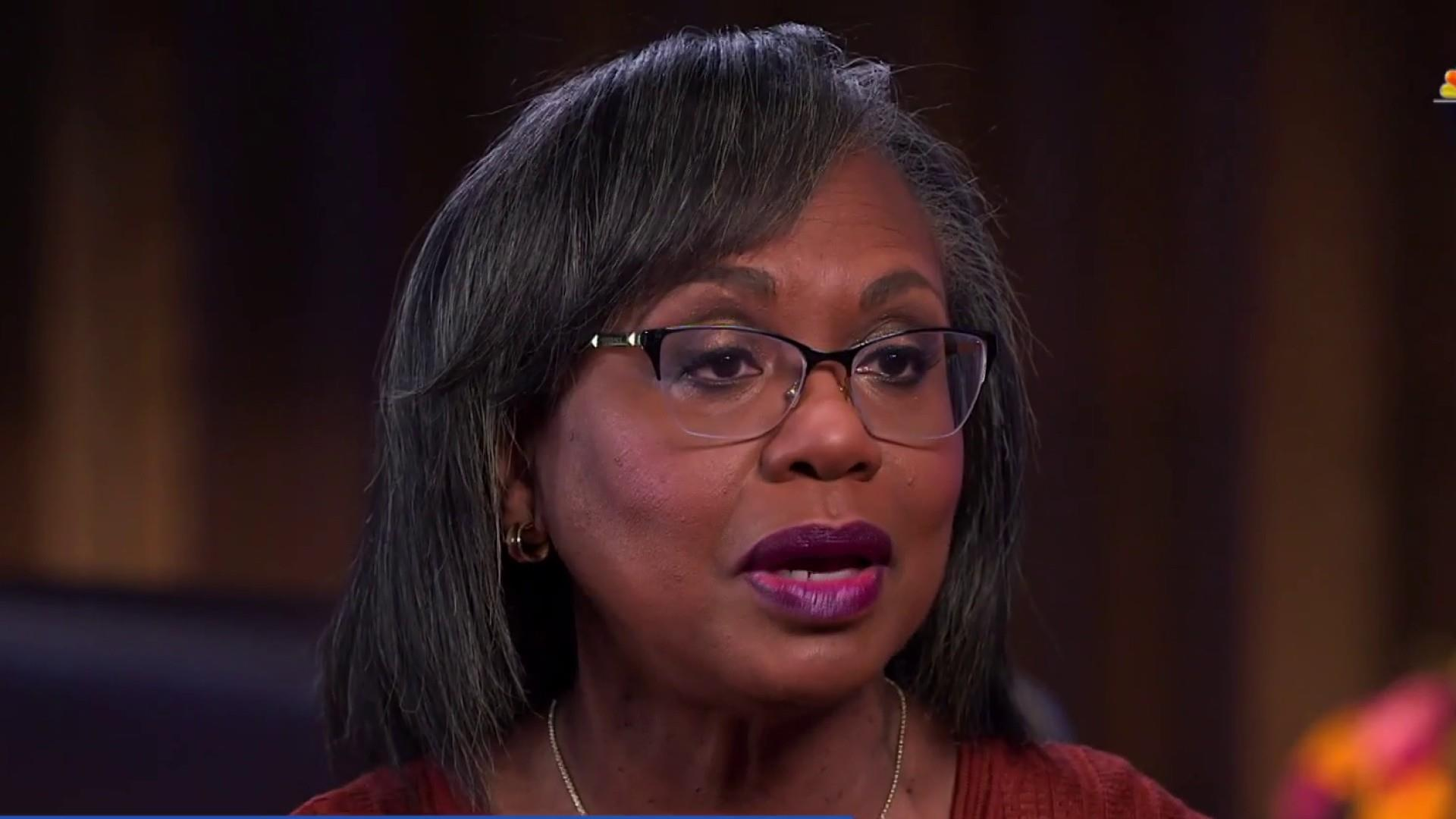 Anita Hill says she's open to voting for Joe Biden in 2020
