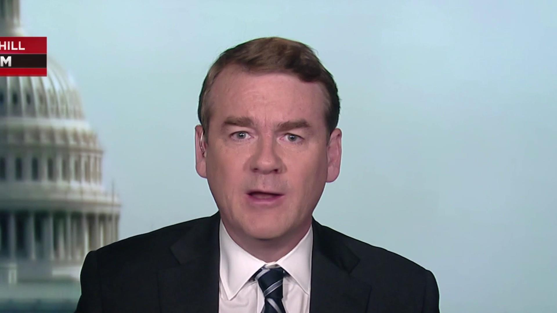 Sen. Michael Bennet talks squaring off with top Dems in debate