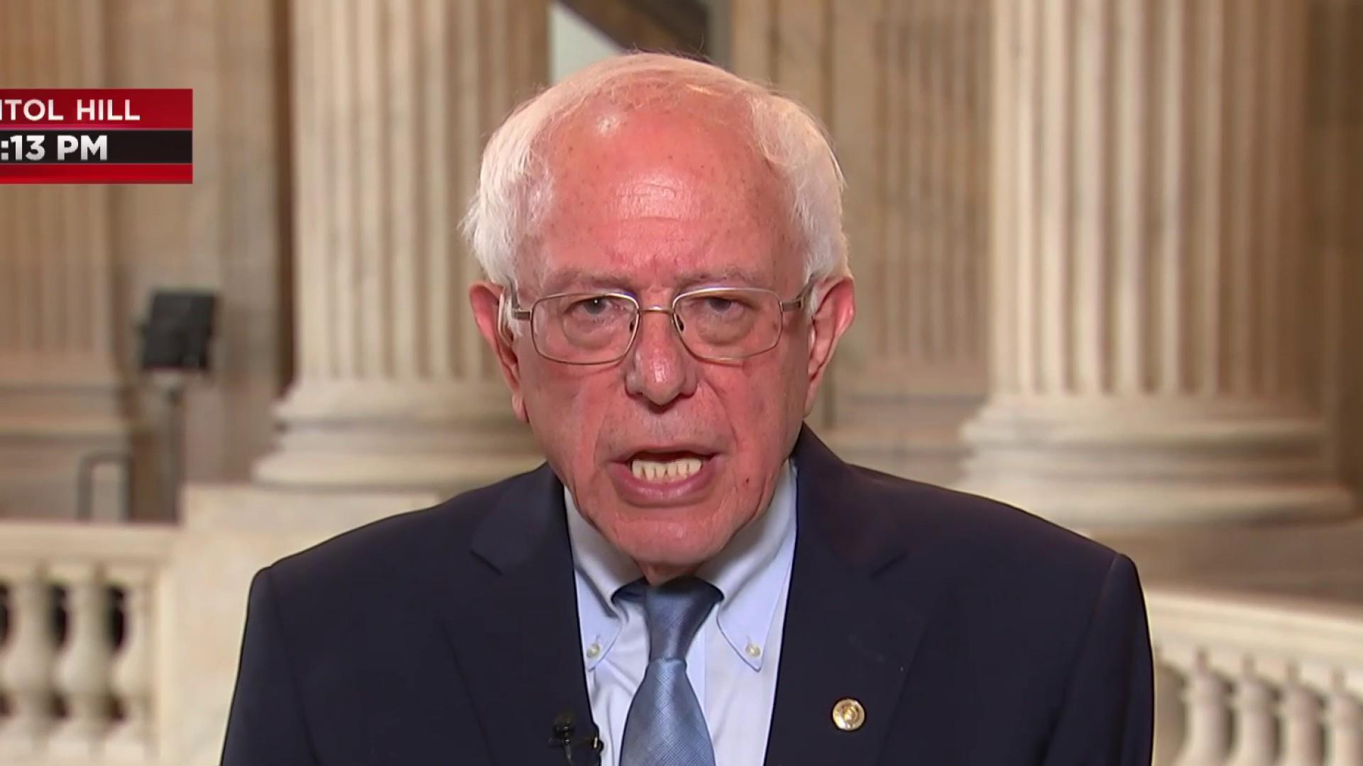 Sen. Bernie Sanders talks 2020 race, escalating tensions with Iran