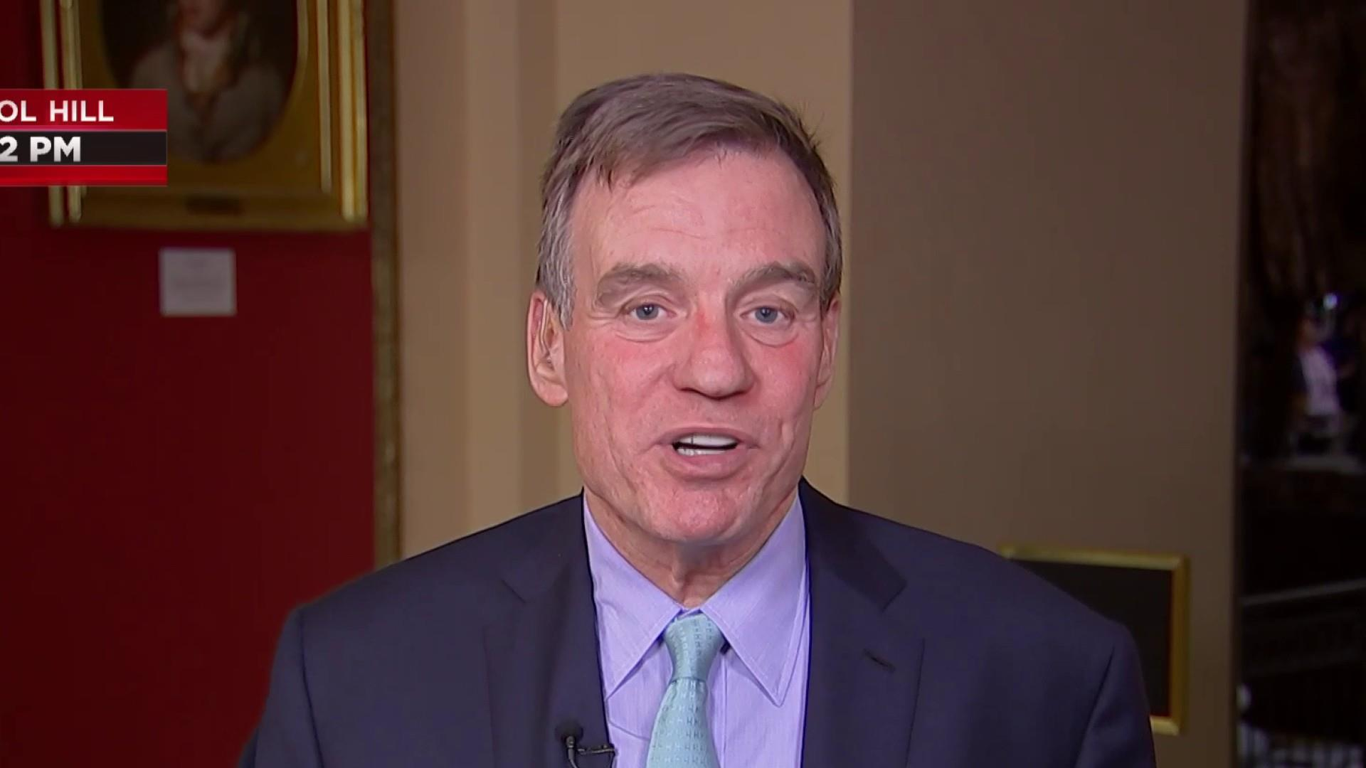 Top Senate Intel Dem: Trump shows he has 'little moral compass' with foreign info comments