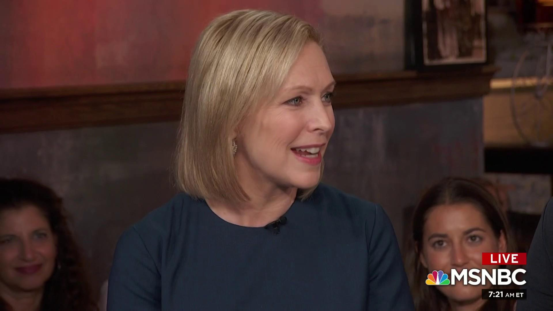 Gillibrand: Picture a working mom in WH rather than a misogynist