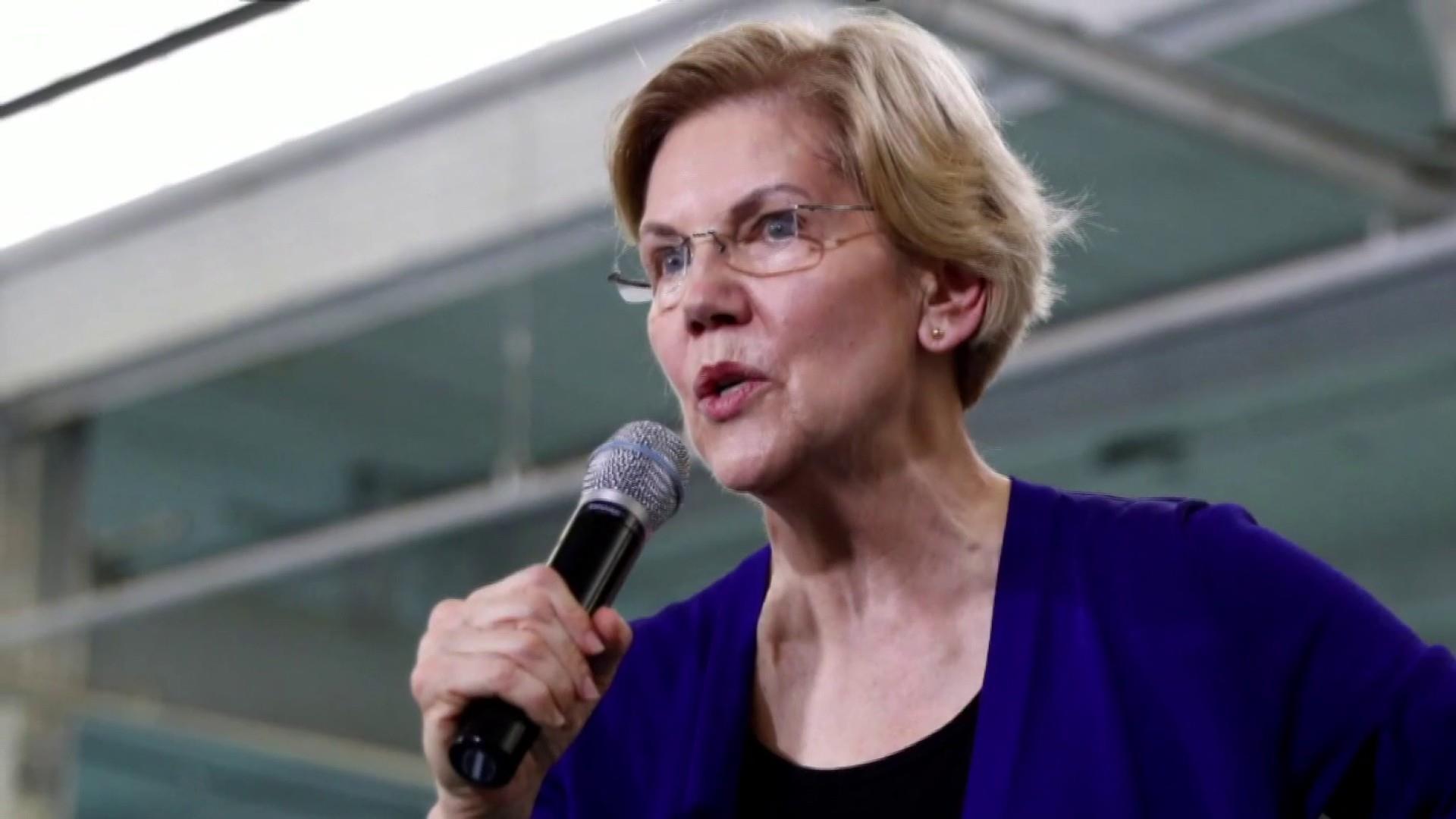 All eyes on Elizabeth Warren at first Dem debate