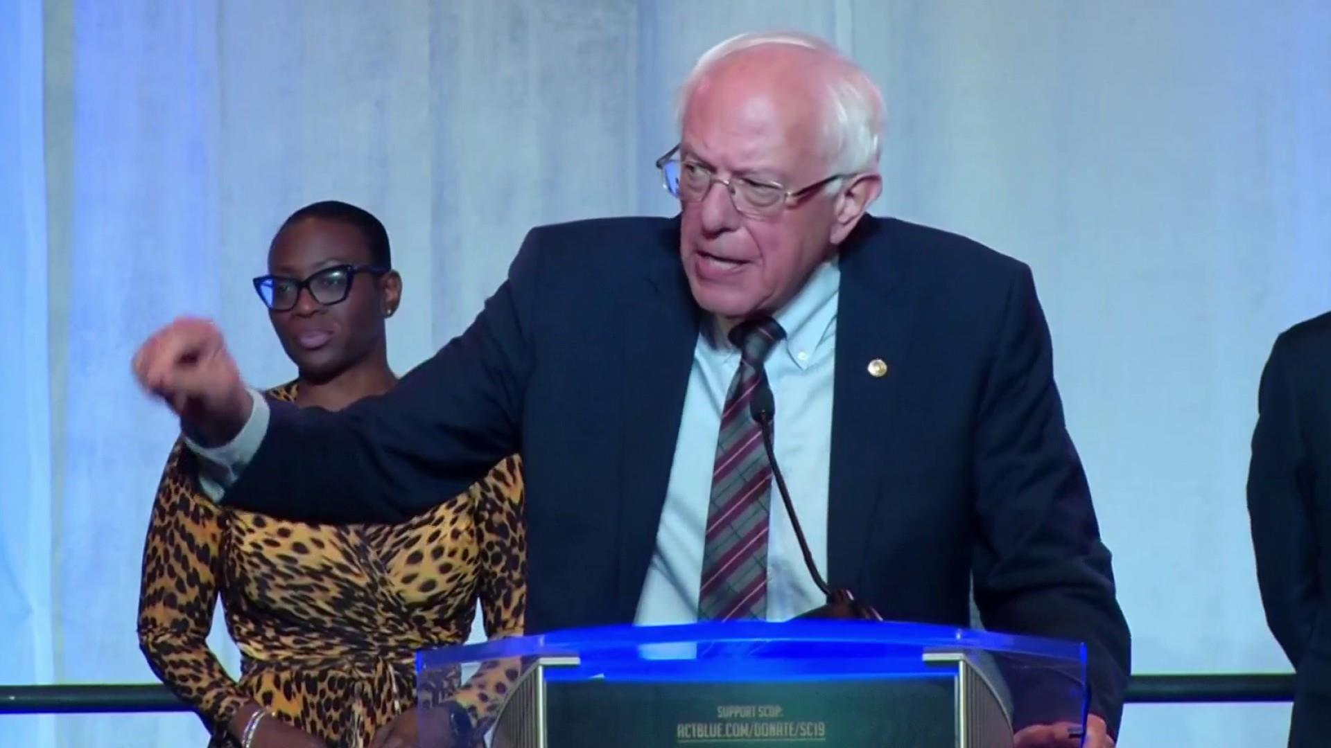 Sen. Sanders gives speech at South Carolina Democratic Convention