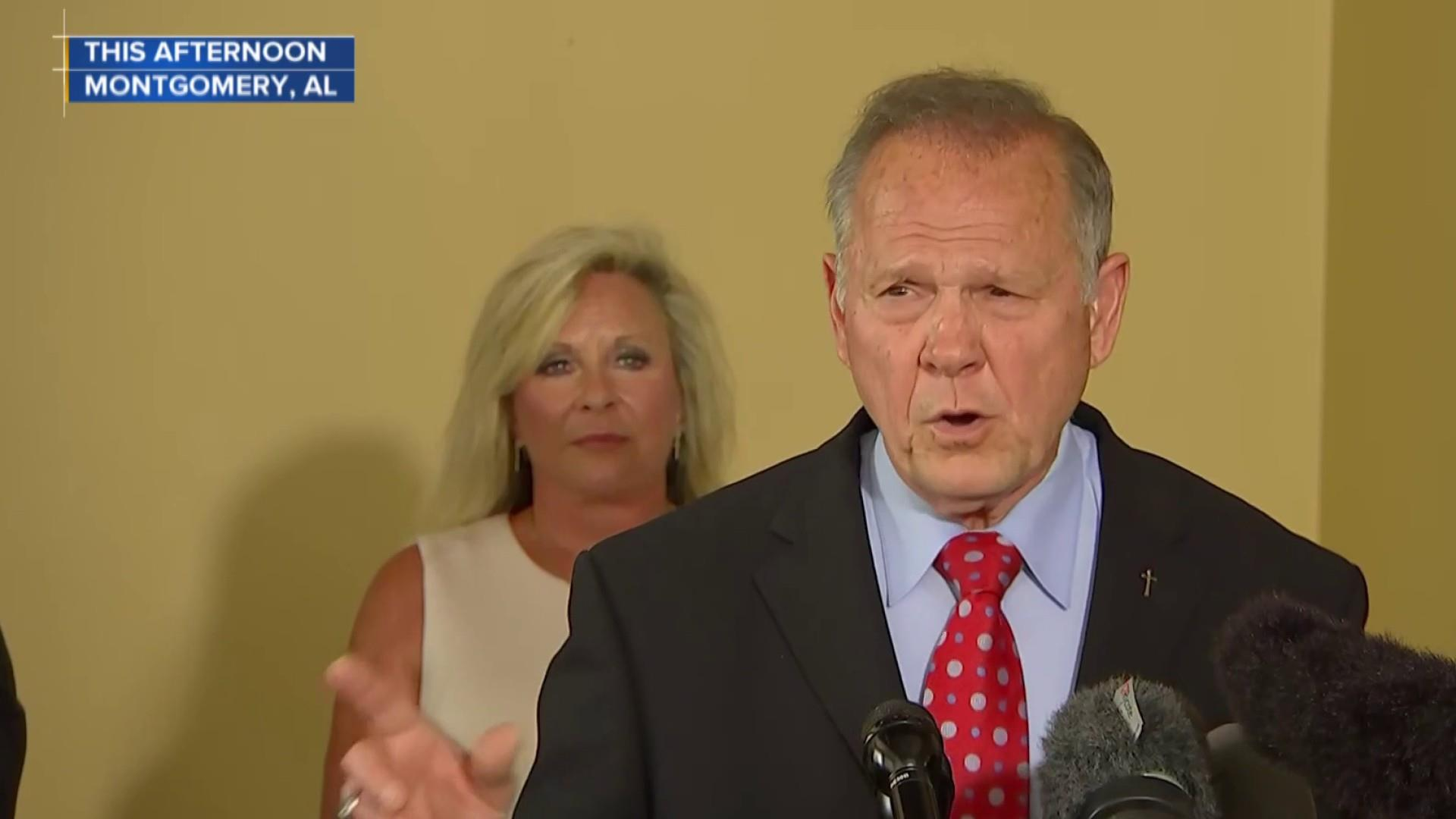 Roy Moore announces another Senate run after losing amid sexual misconduct allegations