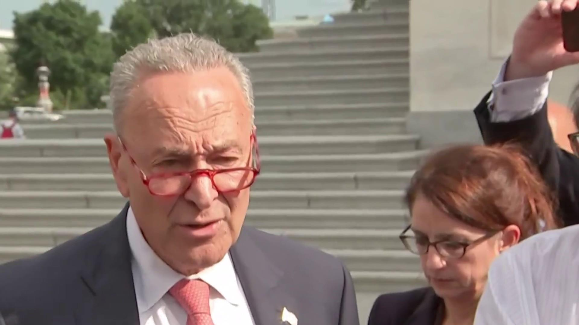 Schumer: 'We're worried' Trump 'and the administration may bumble into a war' with Iran