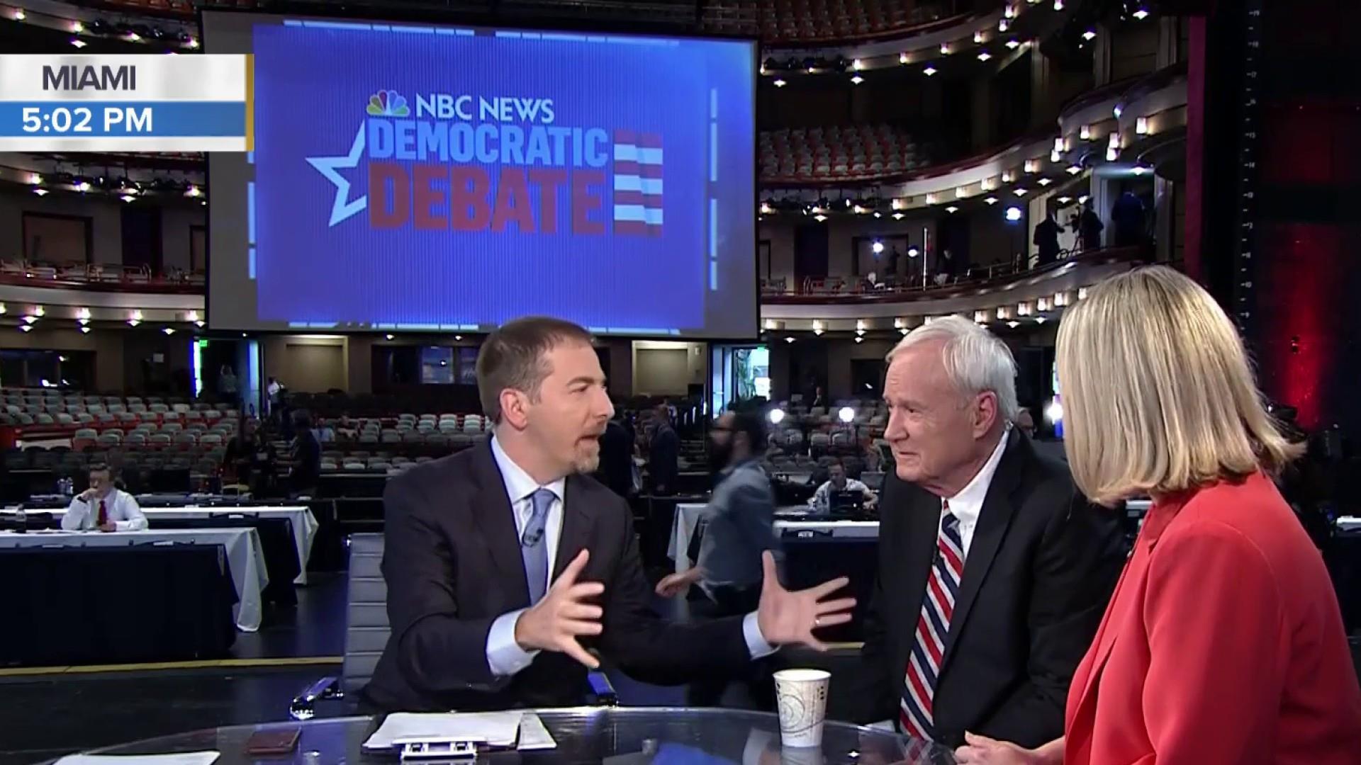 Full Matthews, Schriock: Warren won Dem Debate night 1