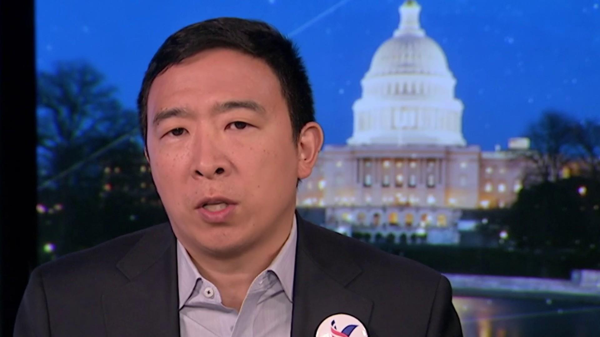 Full Yang: 'I'm already peeling off thousands of Trump supporters'